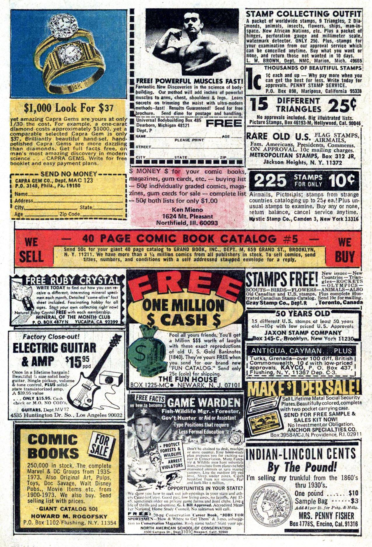 Read online Amazing Adventures (1970) comic -  Issue #22 - 12