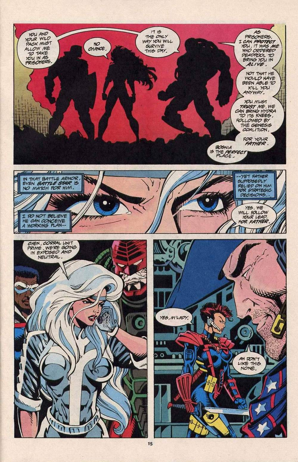 Read online Silver Sable and the Wild Pack comic -  Issue #25 - 12