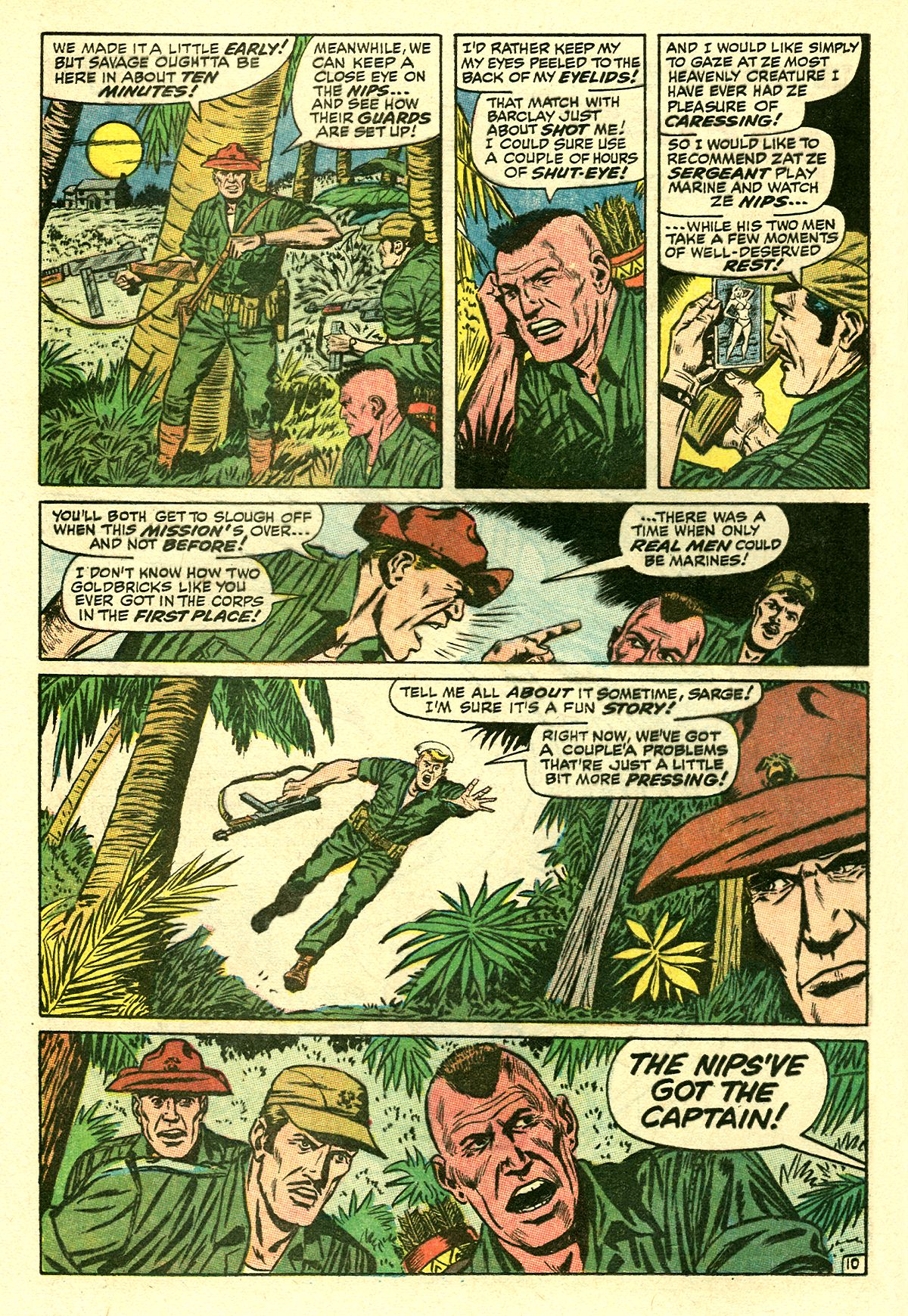 Captain Savage and his Leatherneck Raiders issue 8 - Page 16
