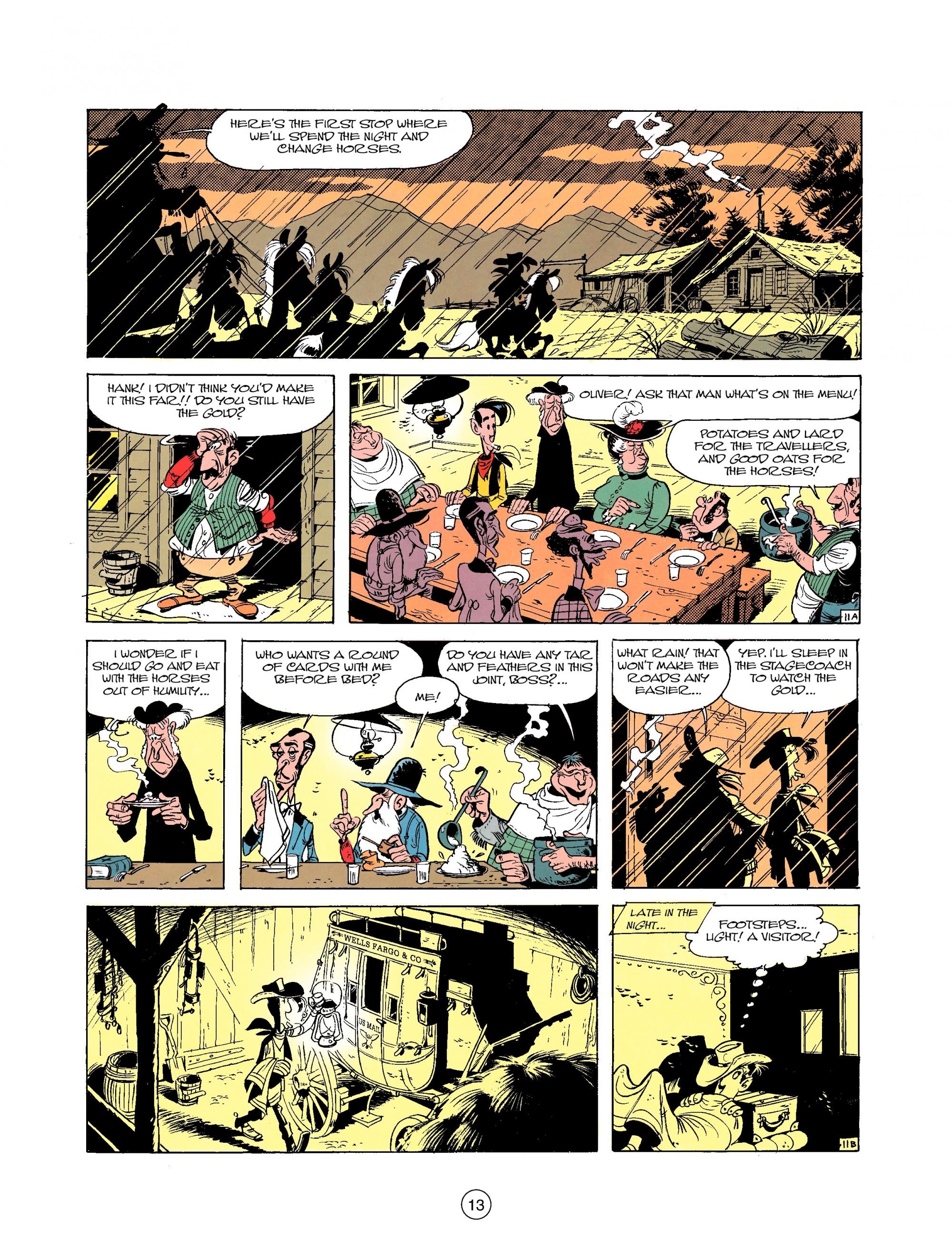 Read online A Lucky Luke Adventure comic -  Issue #25 - 13