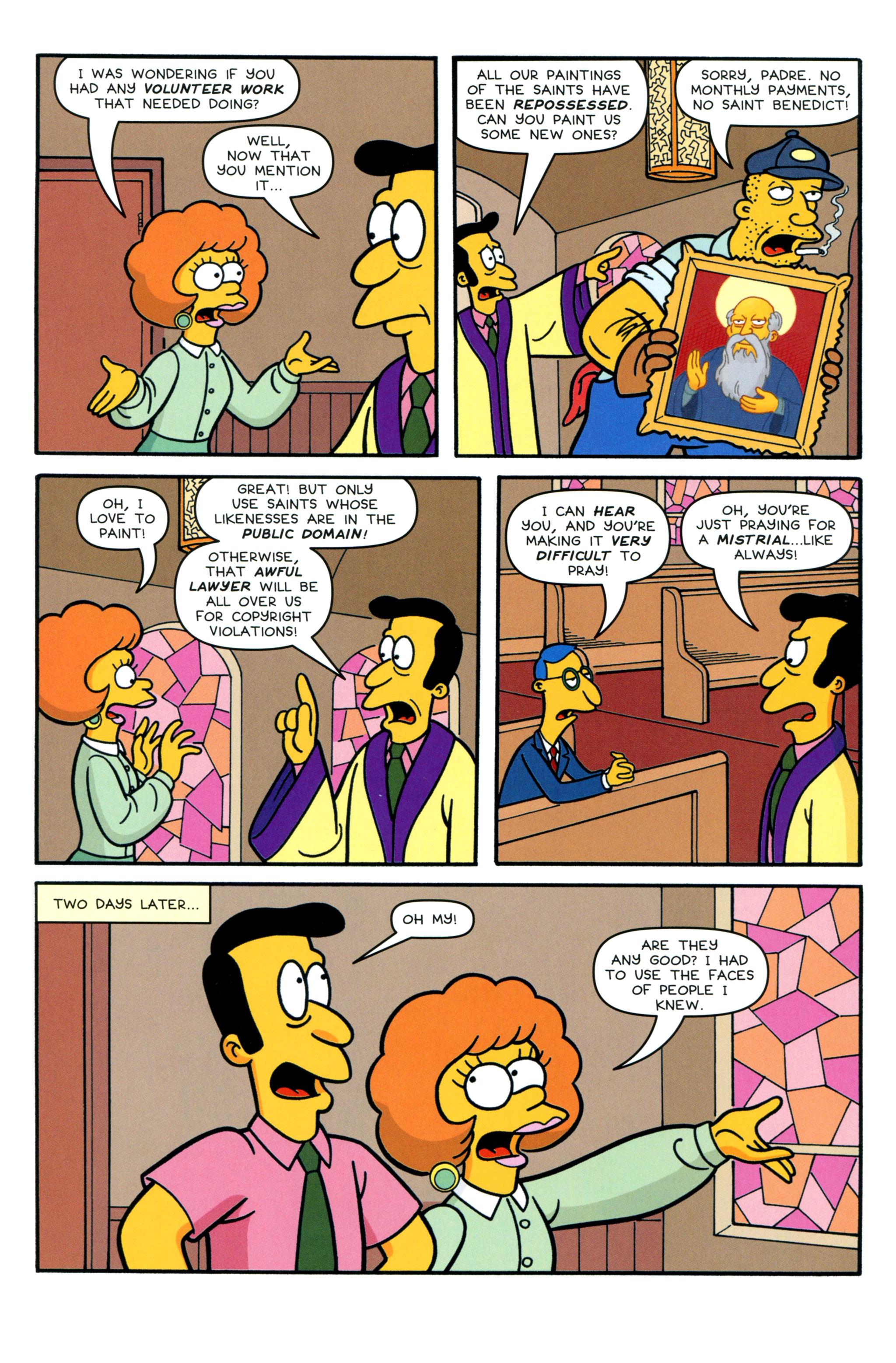 Read online Simpsons Comics comic -  Issue #213 - 16