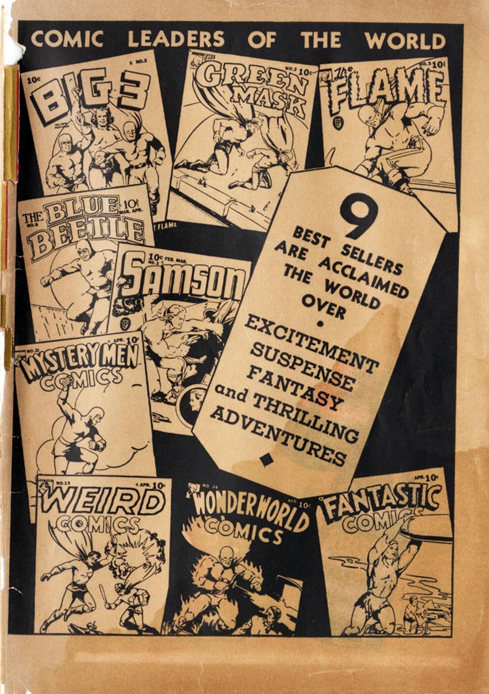 Read online Fantastic Comics comic -  Issue #17 - 66