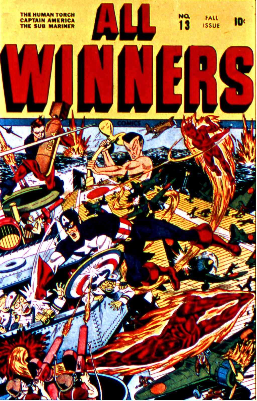 All-Winners Comics 13 Page 1