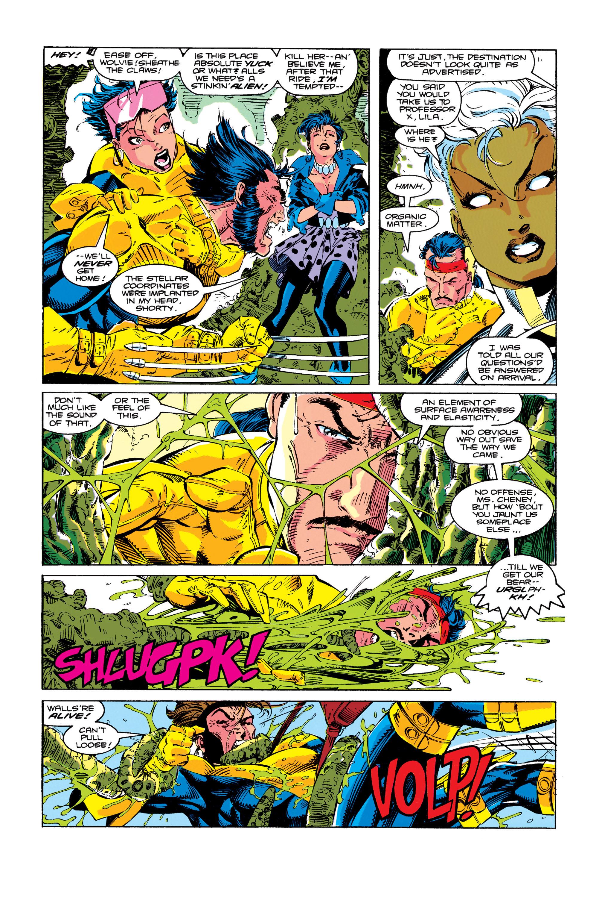Read online Uncanny X-Men (1963) comic -  Issue #274 - 21