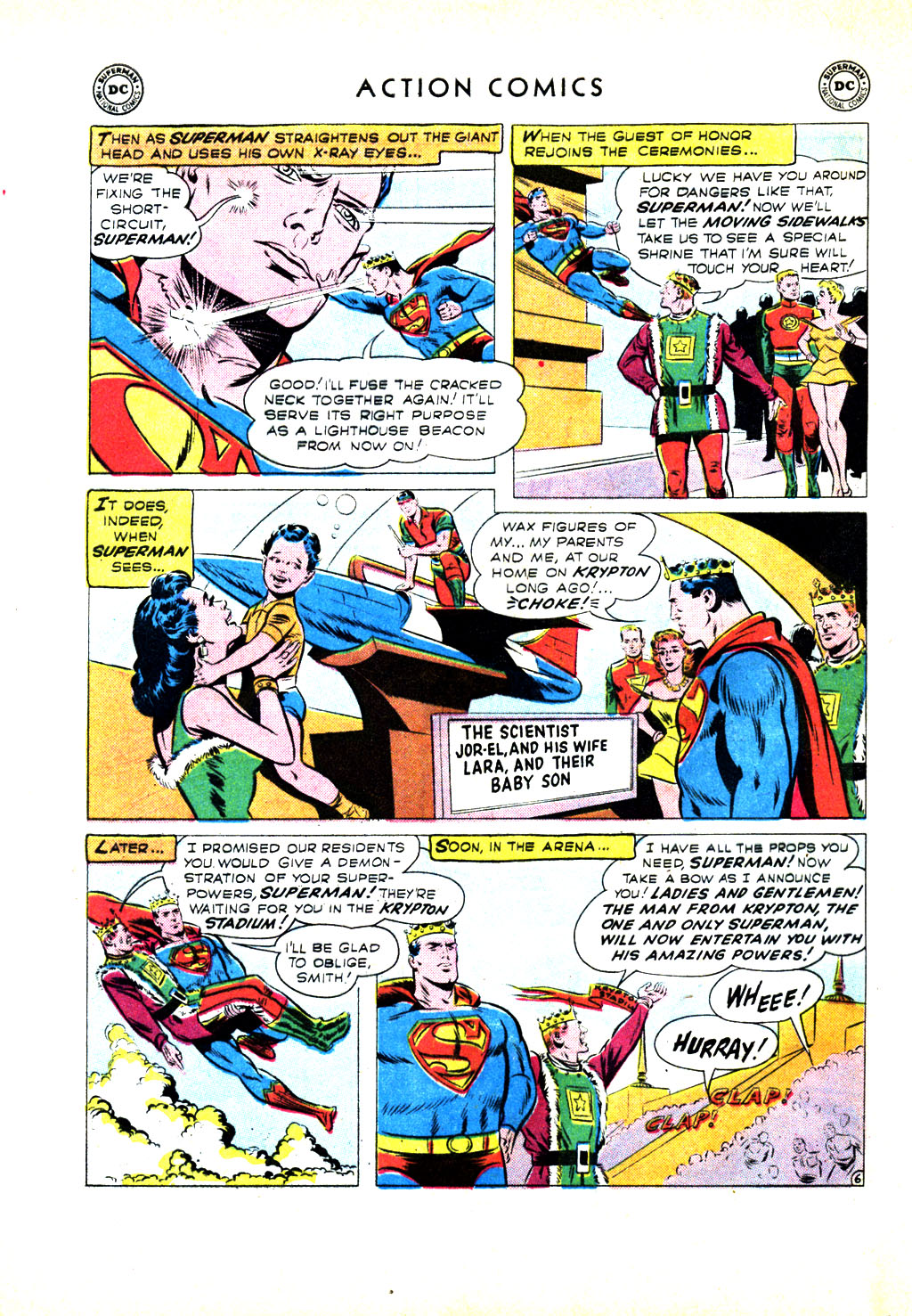 Read online Action Comics (1938) comic -  Issue #246 - 8