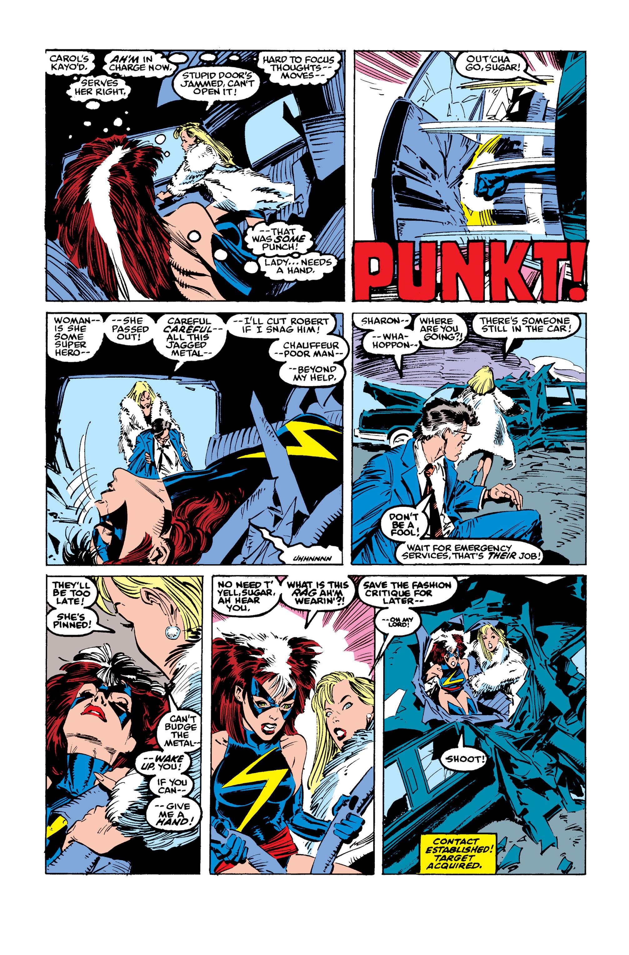 Read online Uncanny X-Men (1963) comic -  Issue #246 - 22