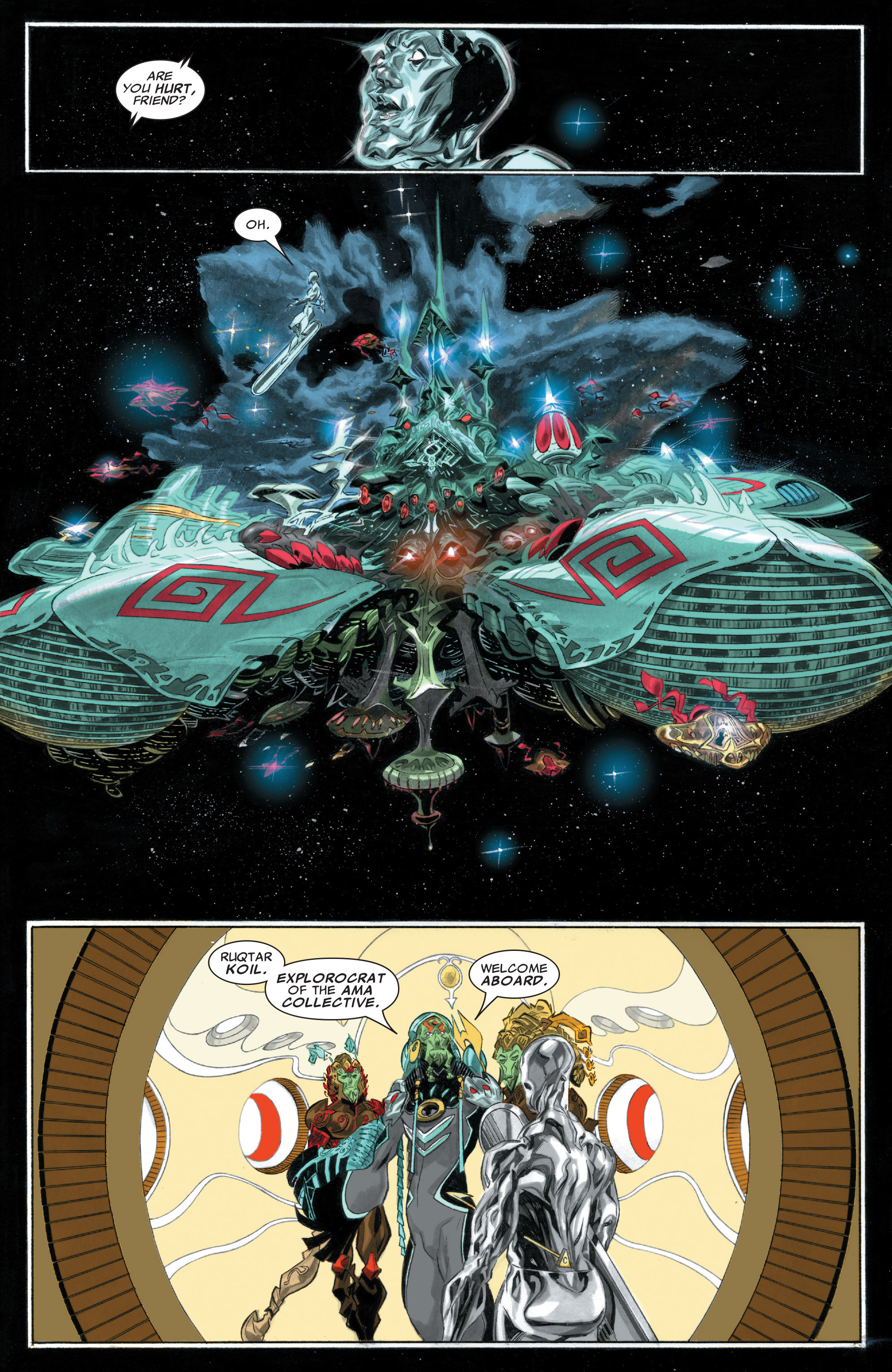 Read online Silver Surfer: In Thy Name comic -  Issue #1 - 8