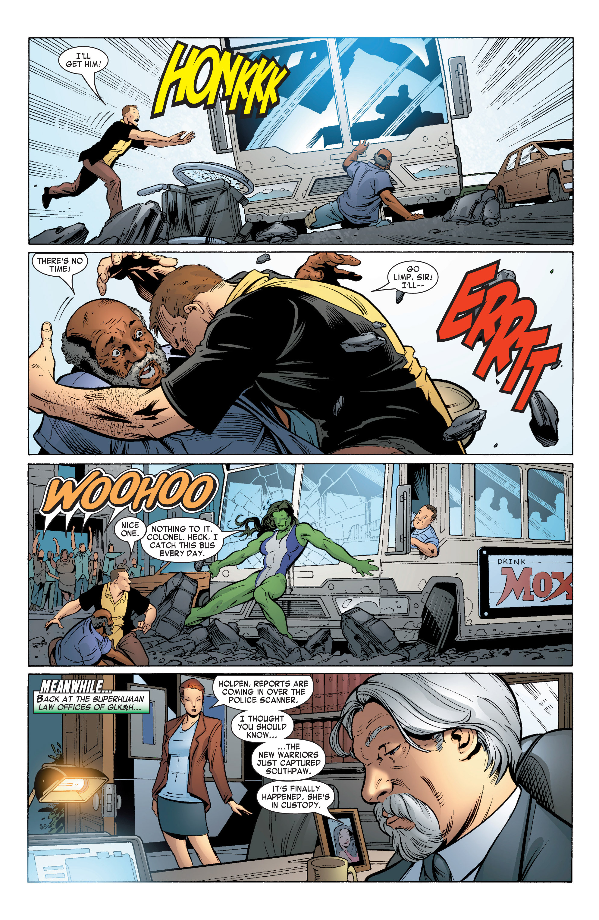Read online She-Hulk (2004) comic -  Issue #5 - 9