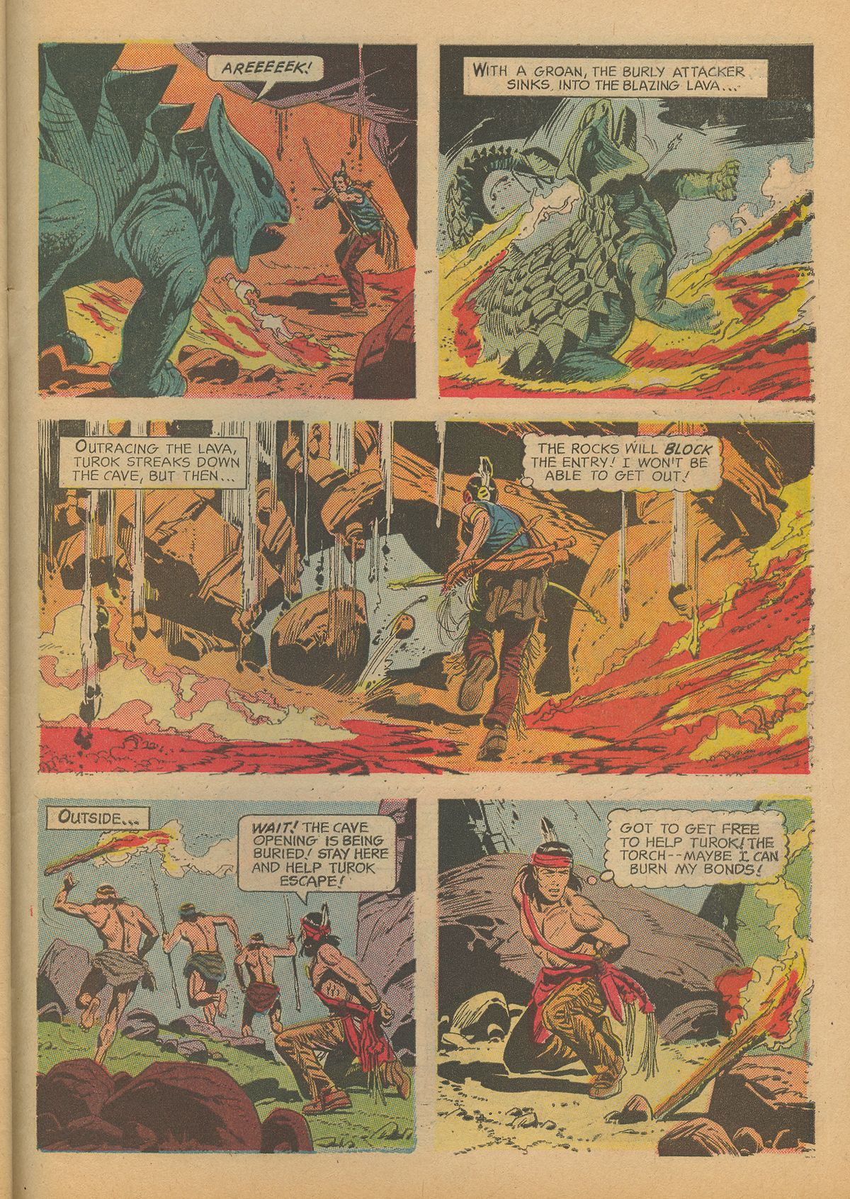 Read online Turok, Son of Stone comic -  Issue #60 - 31