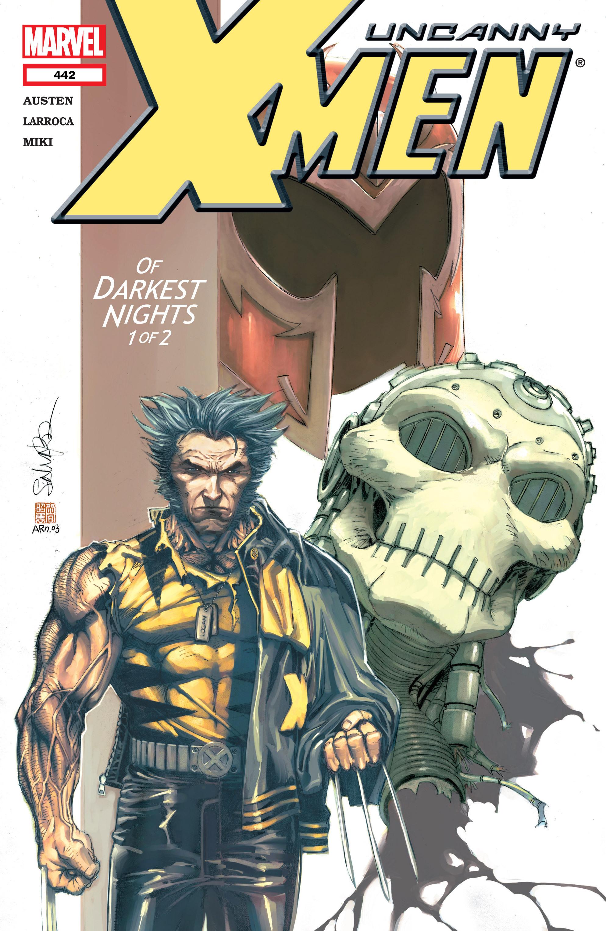 Uncanny X-Men (1963) 442 Page 1