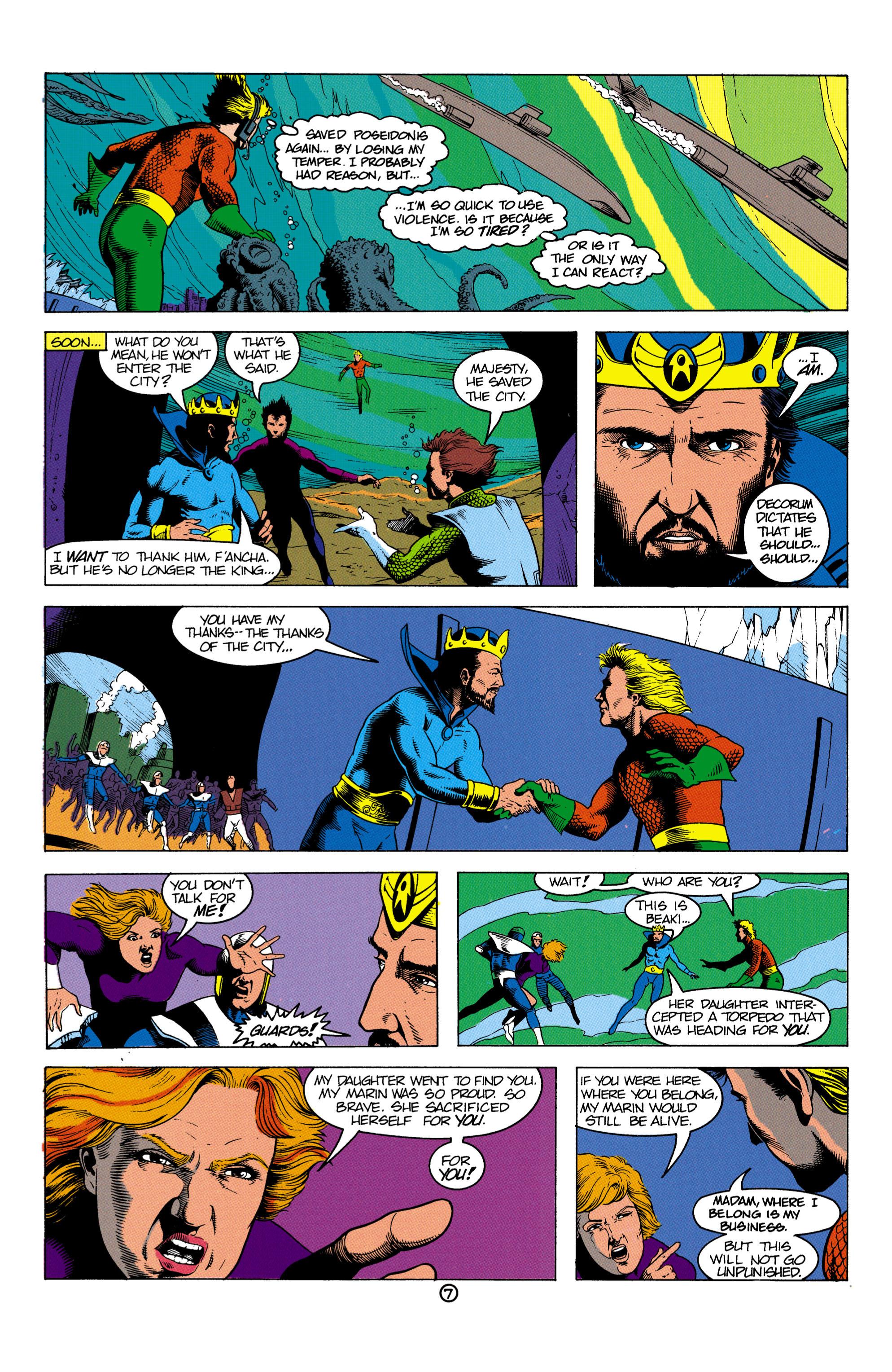 Read online Aquaman (1991) comic -  Issue #2 - 8