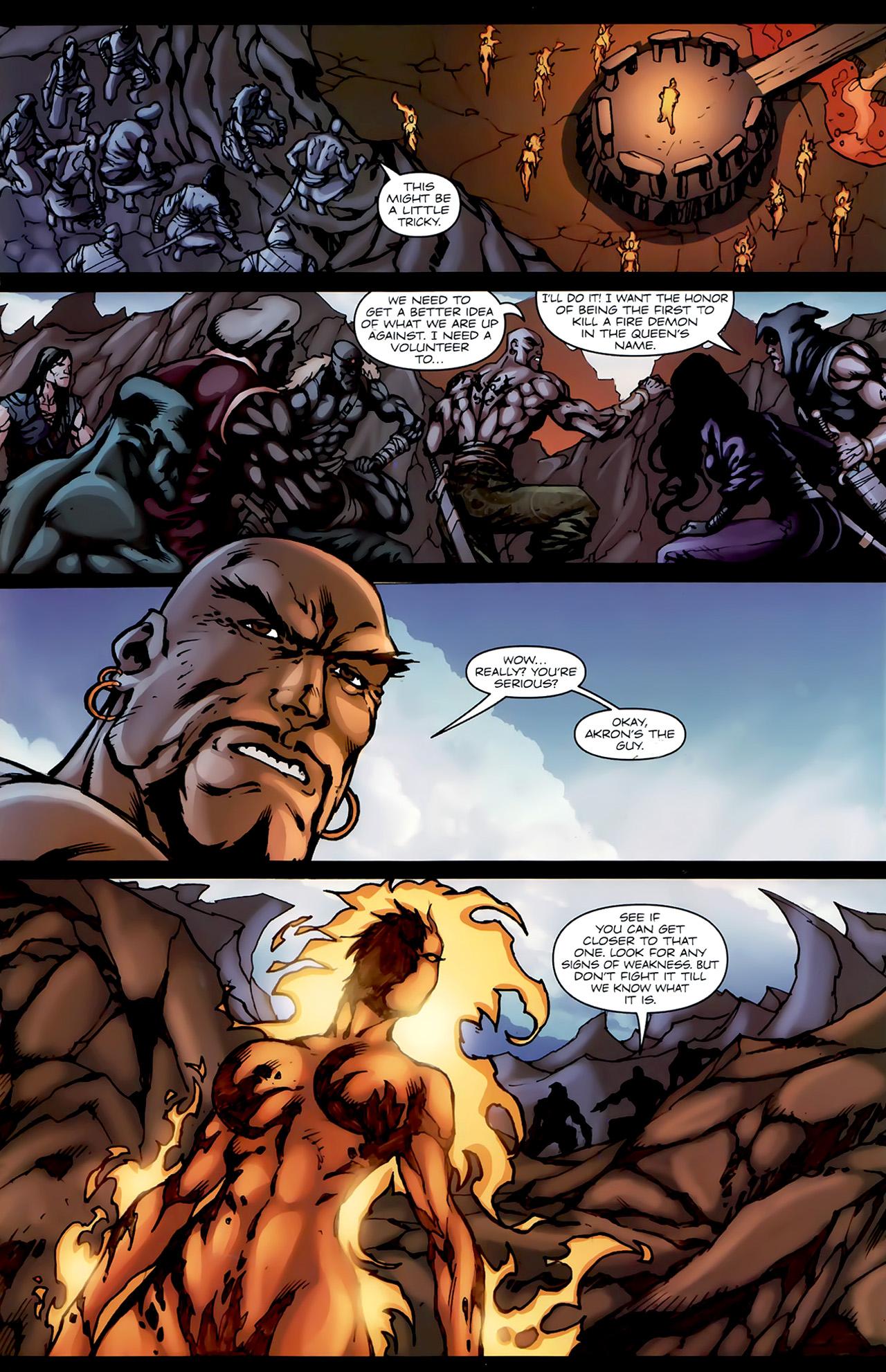 Read online 1001 Arabian Nights: The Adventures of Sinbad comic -  Issue #4 - 13