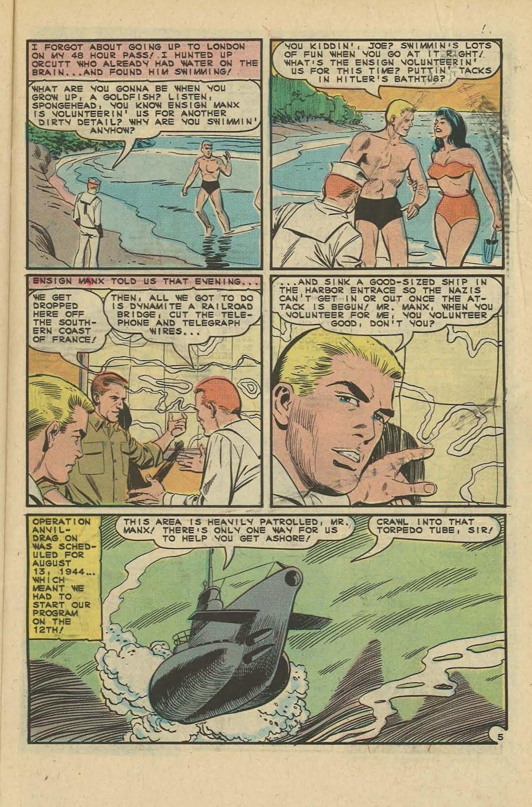 Read online Fightin' Navy comic -  Issue #127 - 29