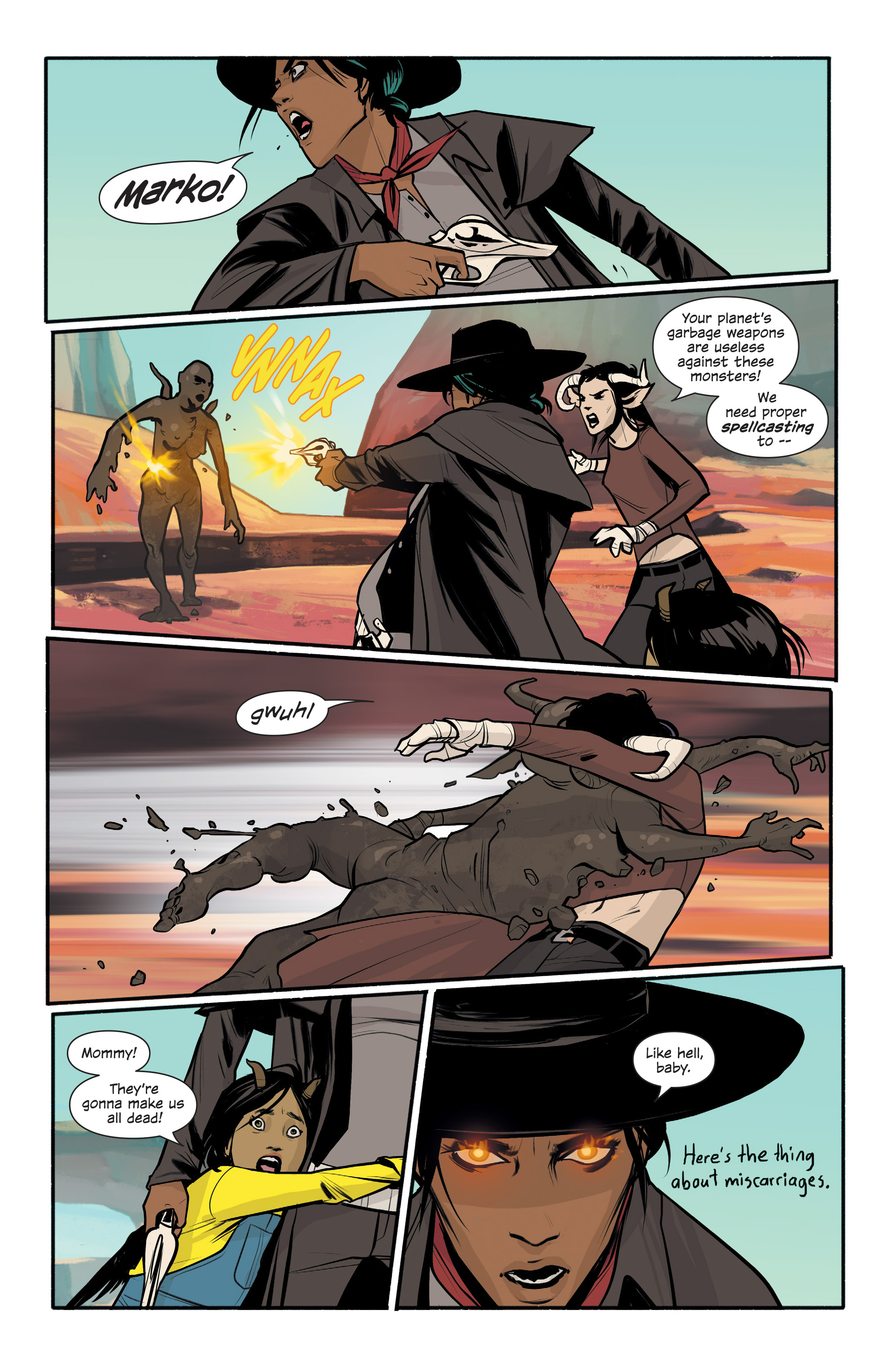 Read online Saga comic -  Issue #43 - 22