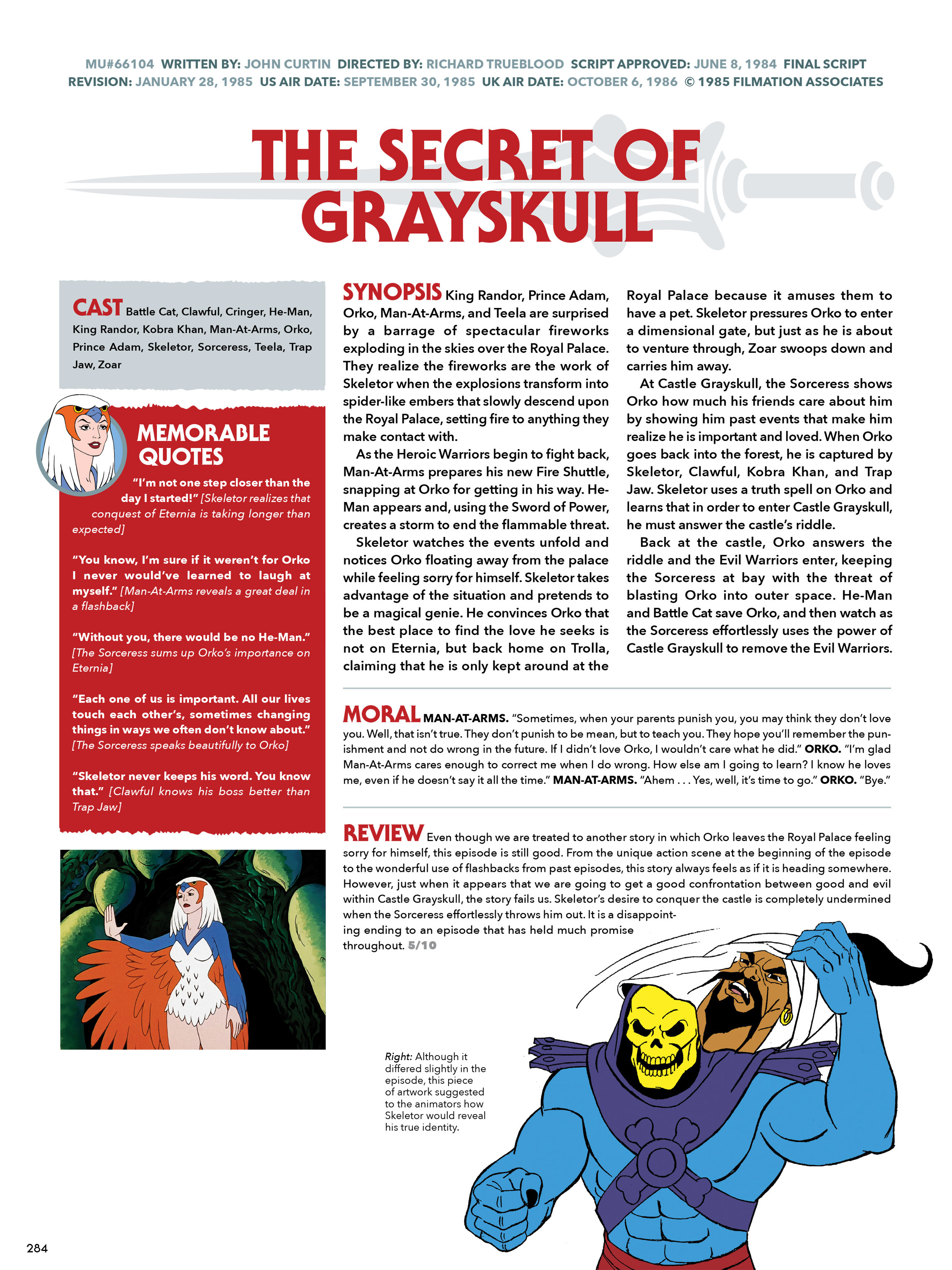 Read online He-Man and She-Ra: A Complete Guide to the Classic Animated Adventures comic -  Issue # TPB (Part 2) - 85