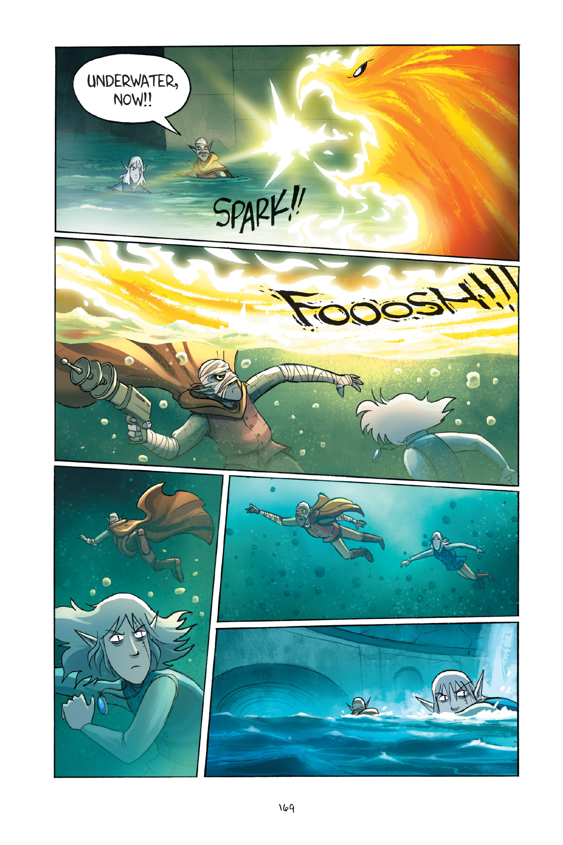Read online Amulet comic -  Issue #7 - 169