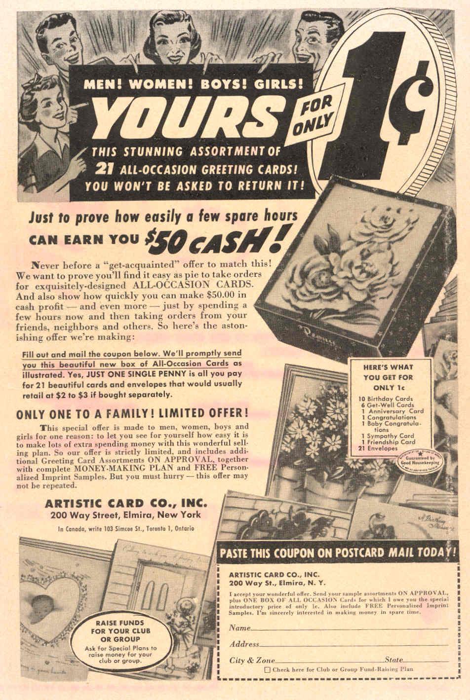 Read online Adventure Comics (1938) comic -  Issue #198 - 43