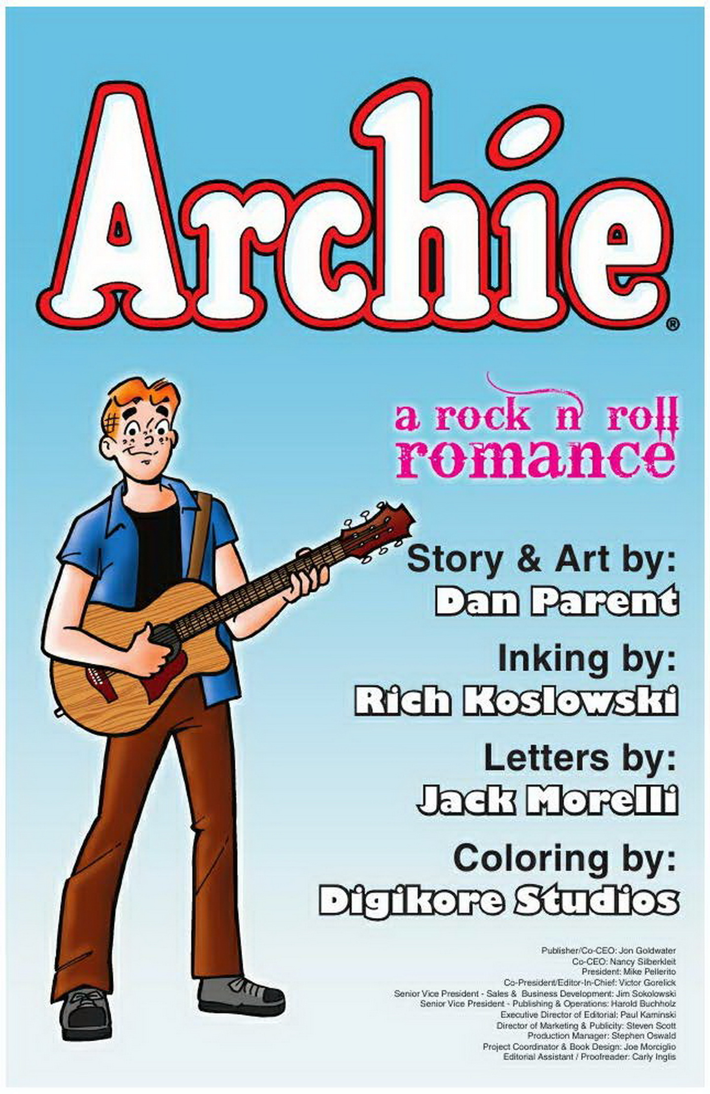 Read online Archie: A Rock 'n' Roll Romance comic -  Issue #Archie: A Rock 'n' Roll Romance Full - 3