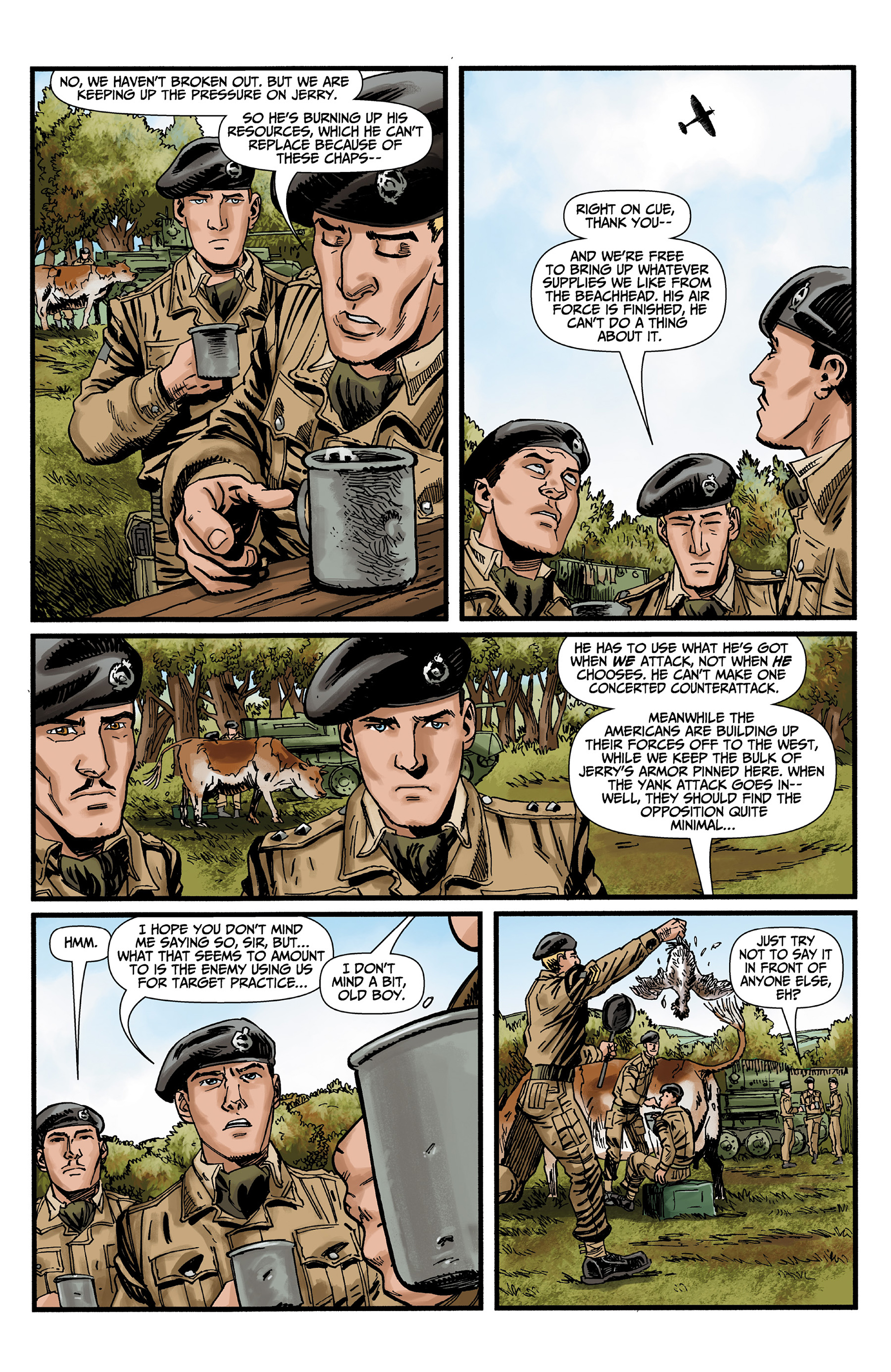 Read online World of Tanks comic -  Issue #3 - 10