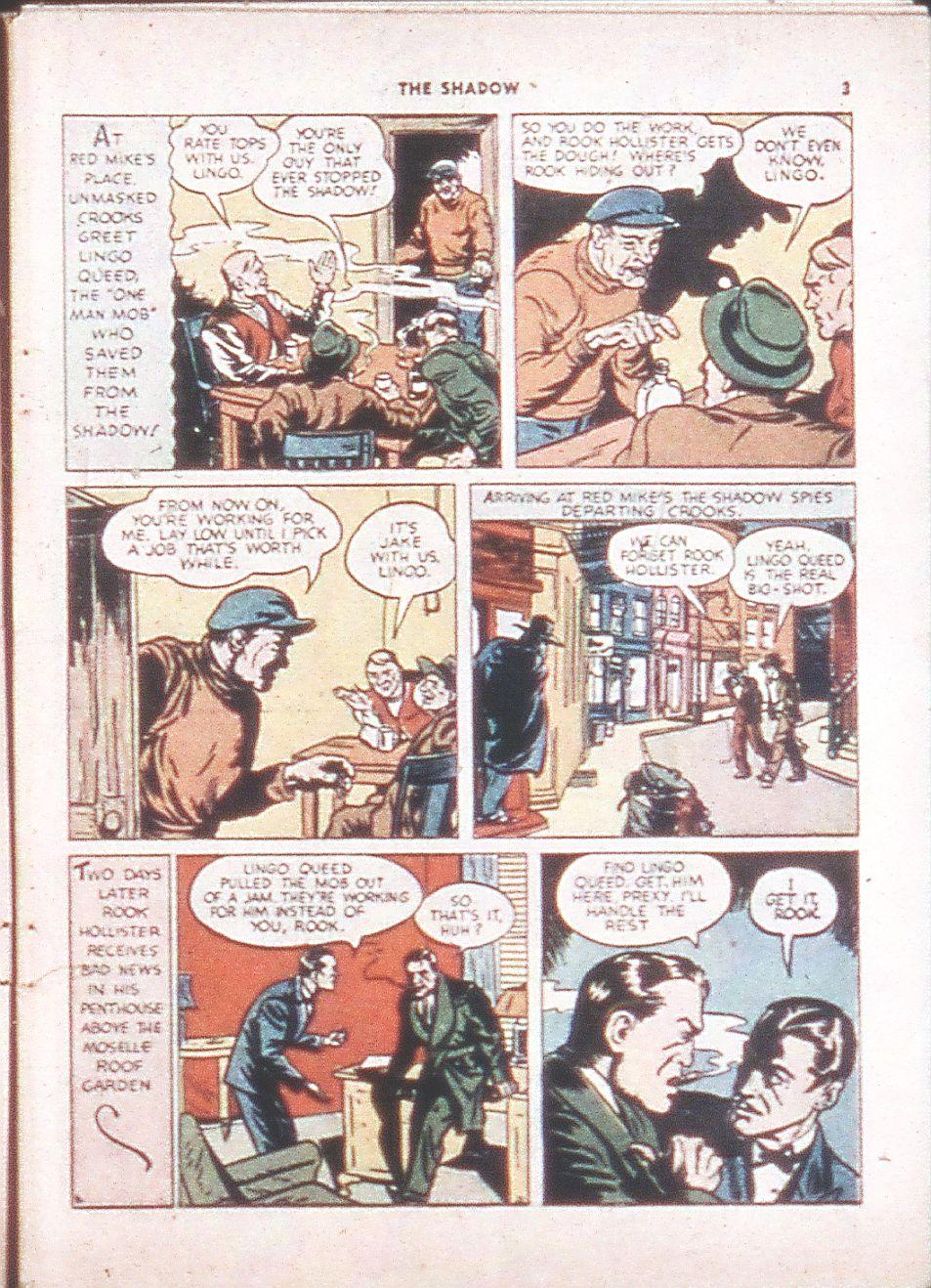 Read online Shadow Comics comic -  Issue #6 - 5