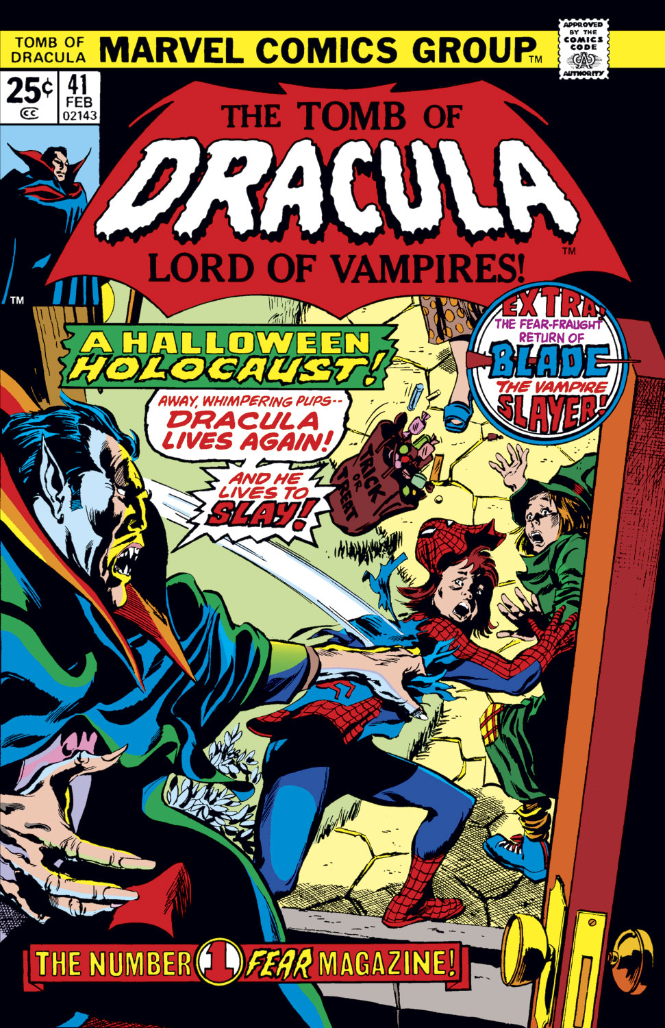 Tomb of Dracula (1972) issue 41 - Page 1
