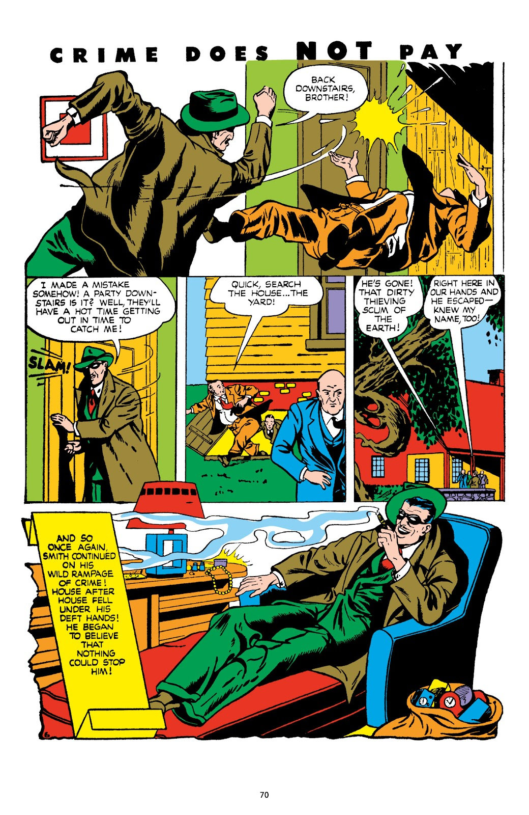 Read online Crime Does Not Pay Archives comic -  Issue # TPB 8 (Part 1) - 71