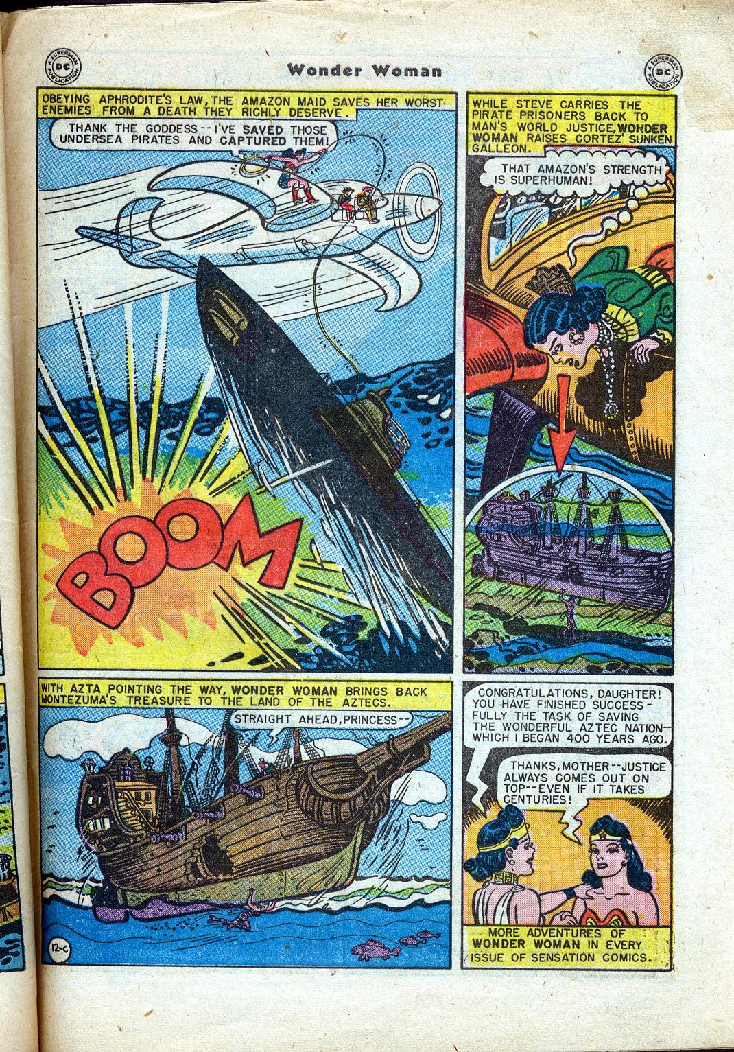 Read online Wonder Woman (1942) comic -  Issue #24 - 49