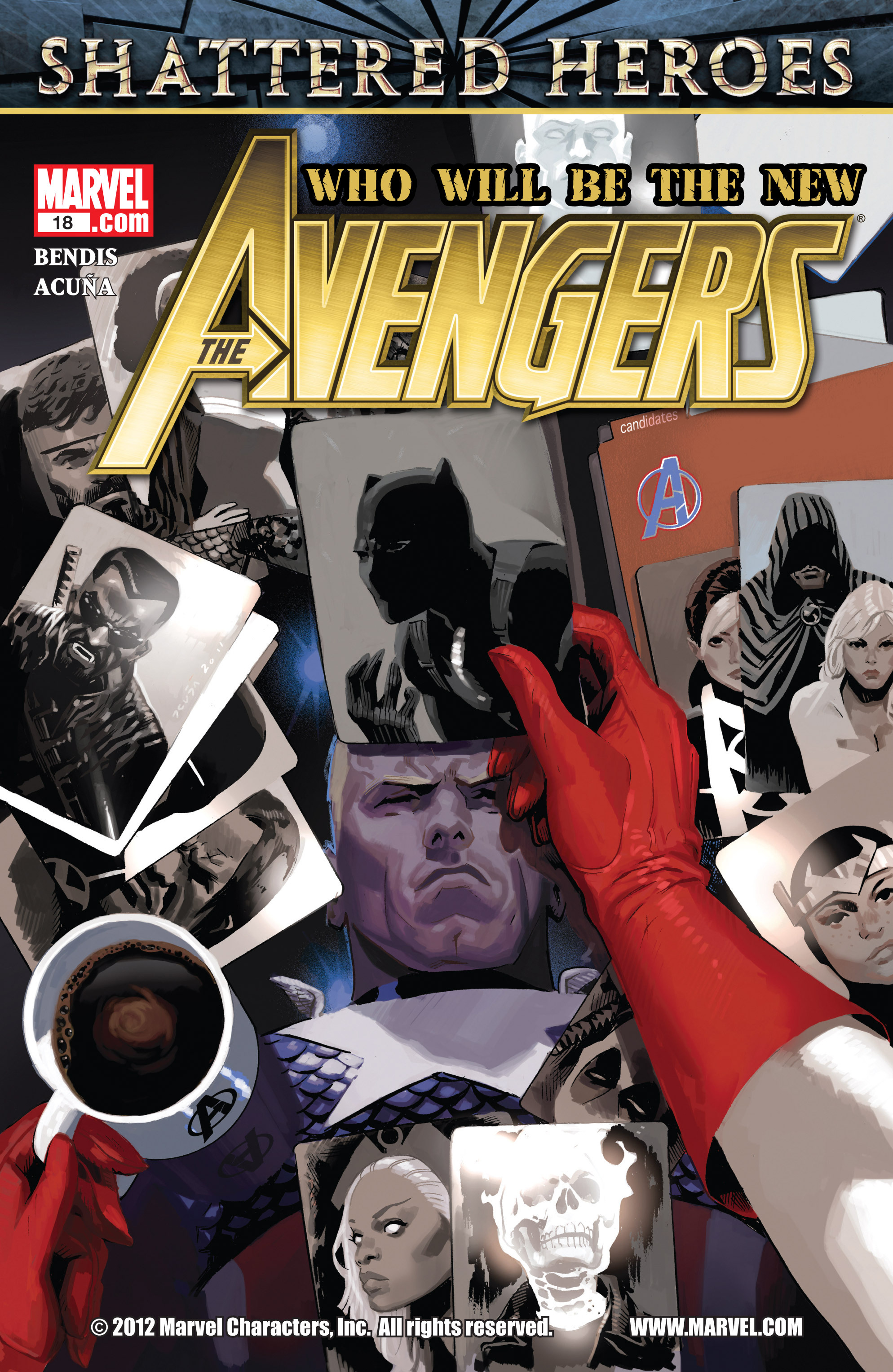 Read online Avengers (2010) comic -  Issue #18 - 1