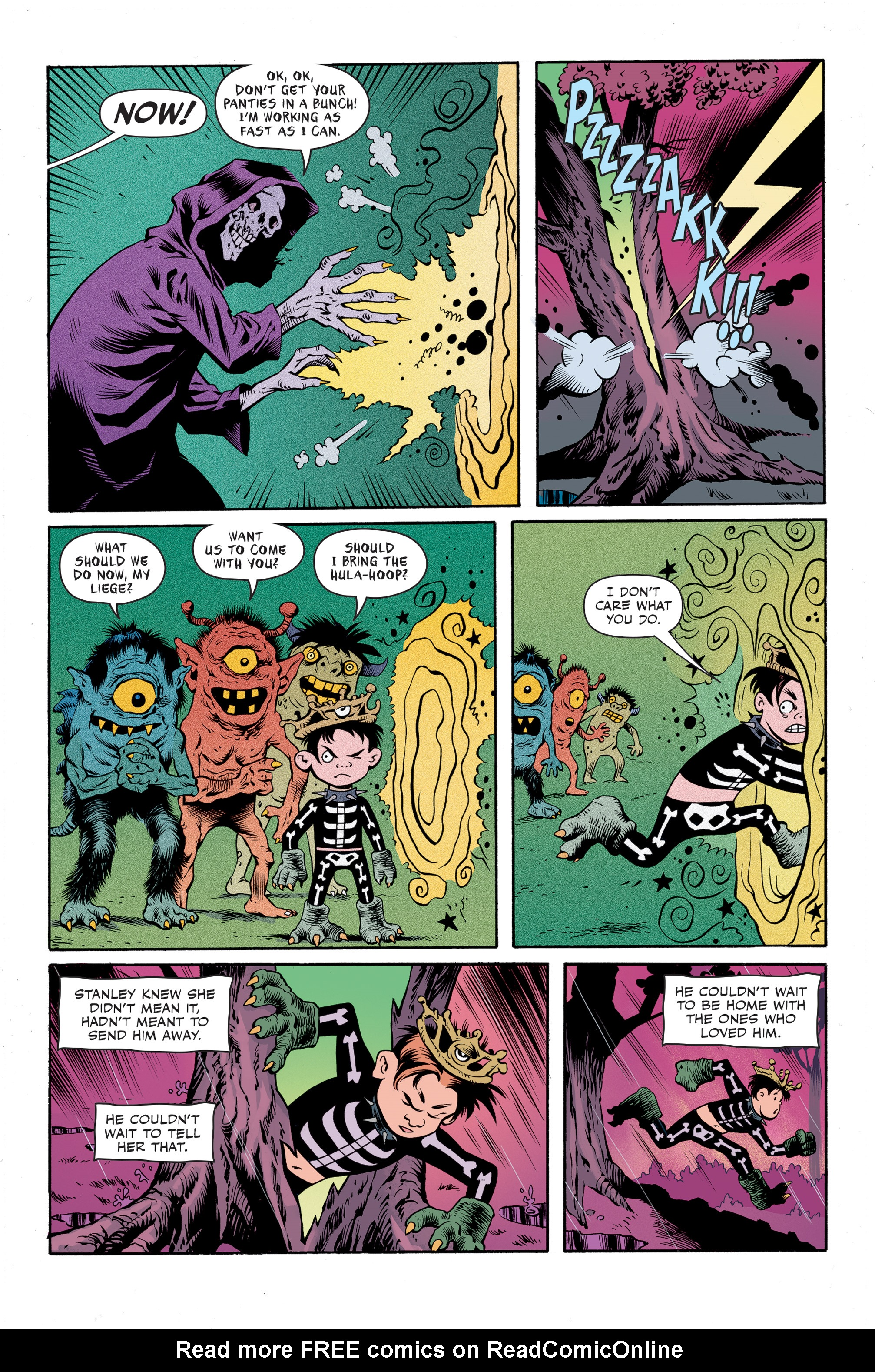 Read online Spook House comic -  Issue #5 - 22