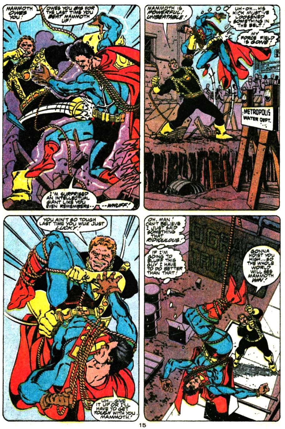 Read online Adventures of Superman (1987) comic -  Issue #472 - 16