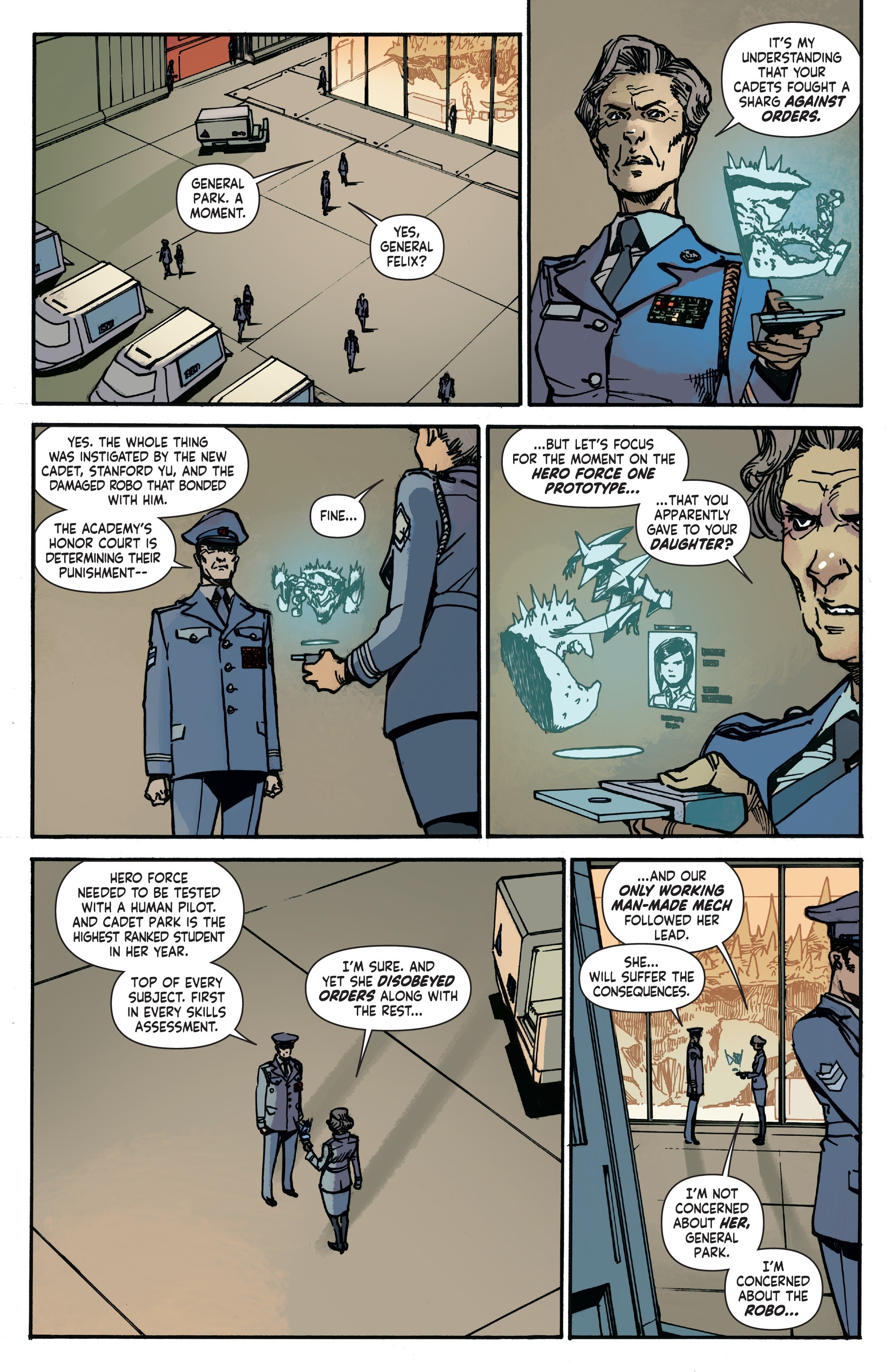 Mech Cadet Yu #_TPB_2 #15 - English 7