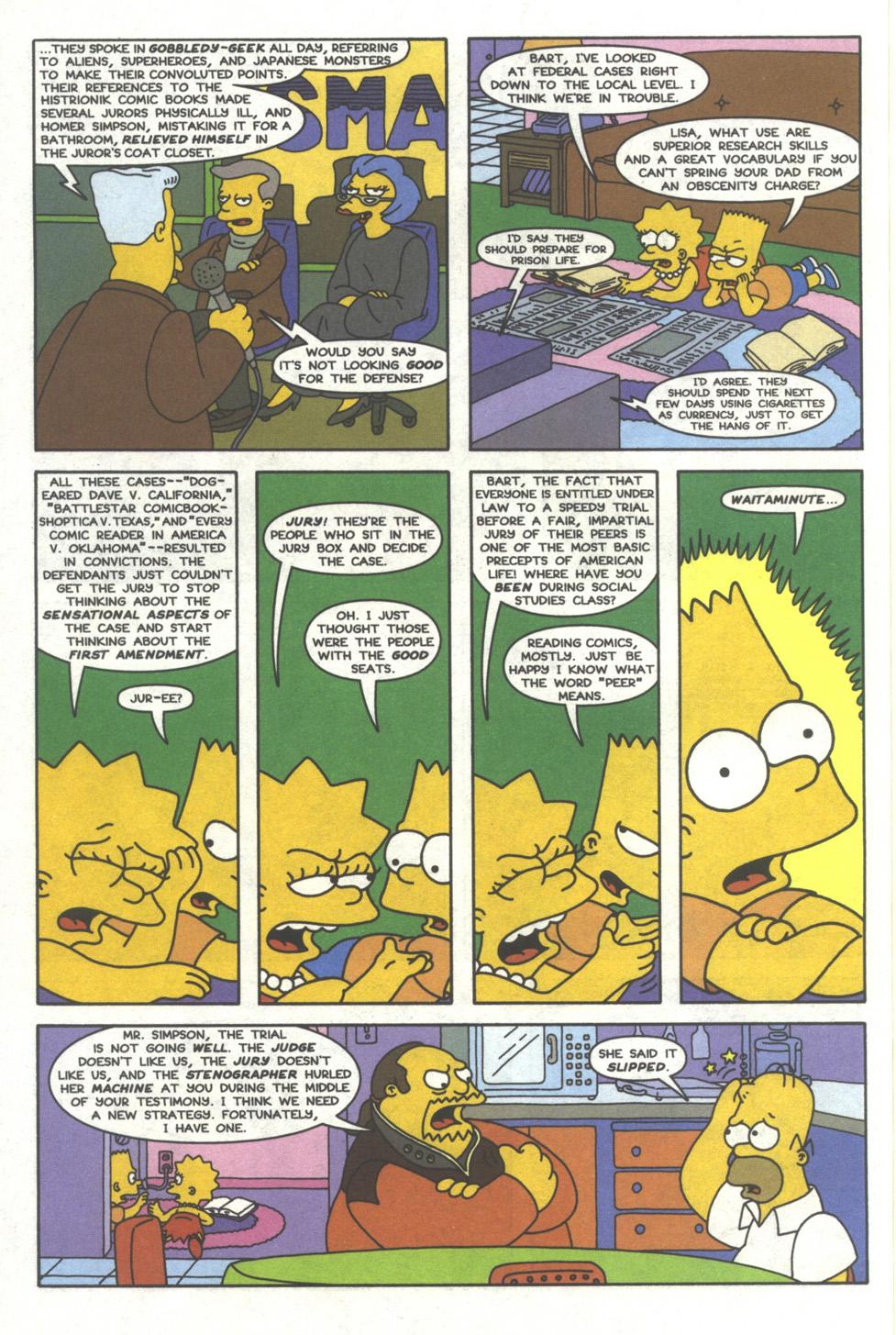 Read online Simpsons Comics comic -  Issue #39 - 19