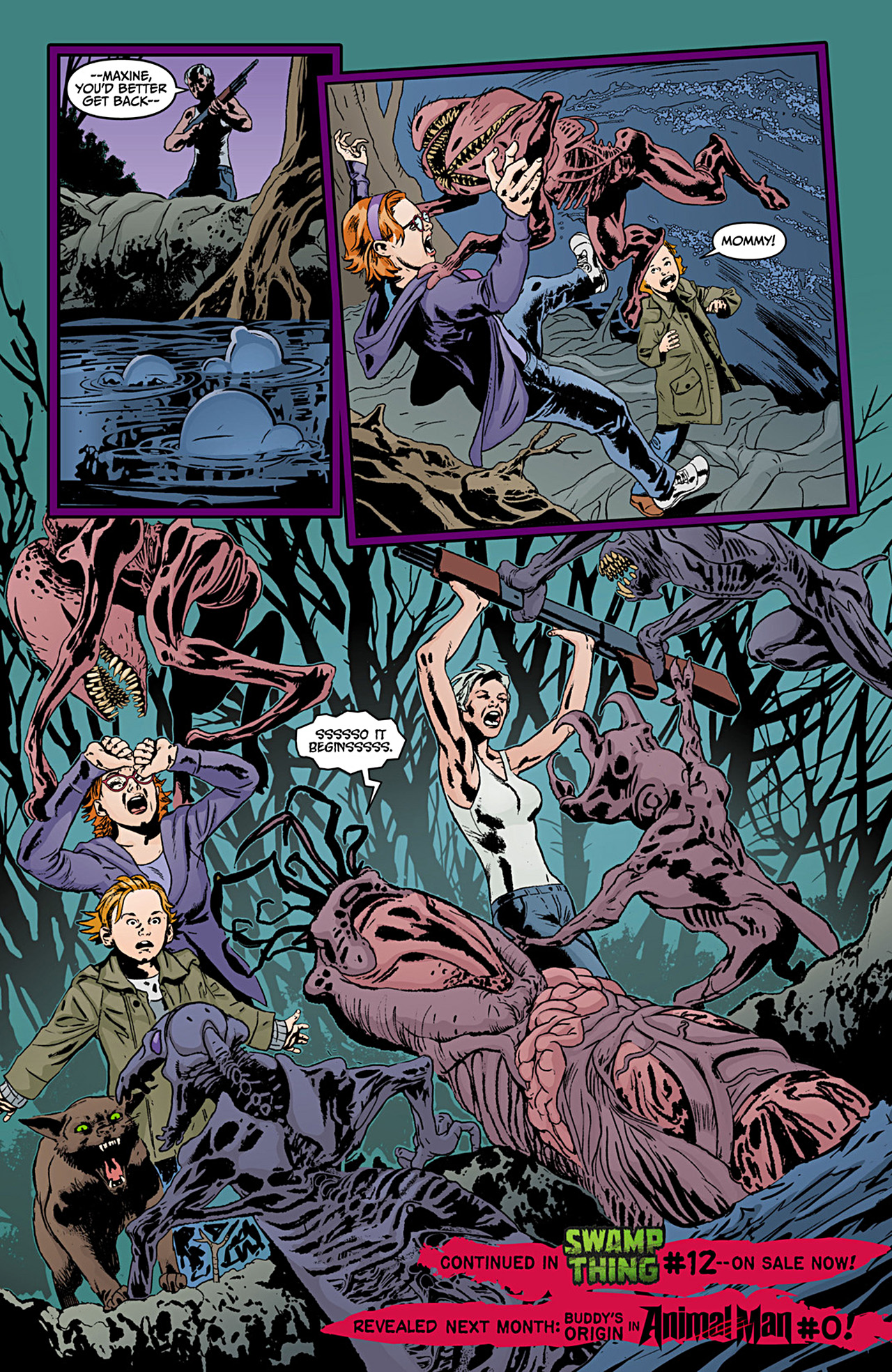 Read online Animal Man (2011) comic -  Issue #12 - 21