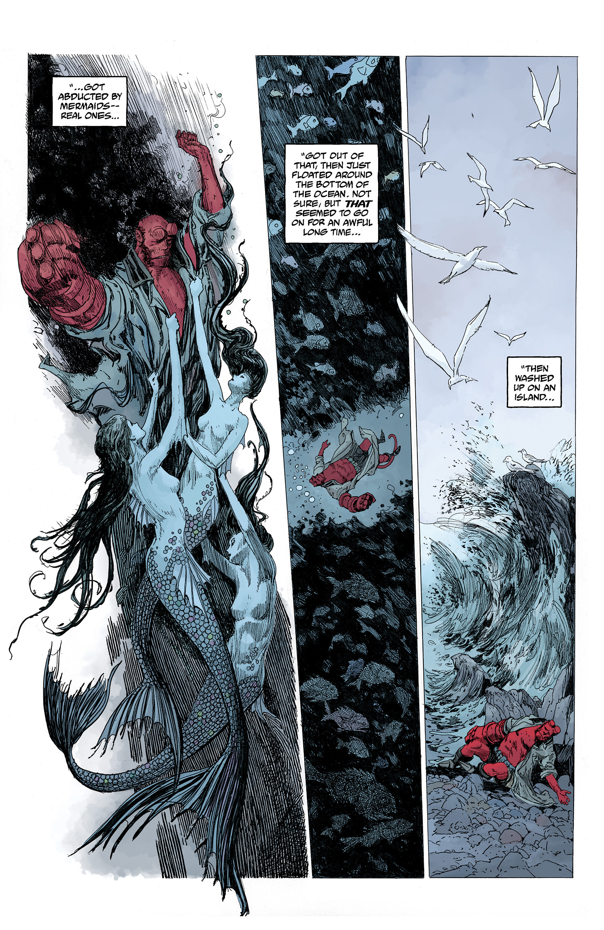 Read online Hellboy: Into the Silent Sea comic -  Issue # Full - 19