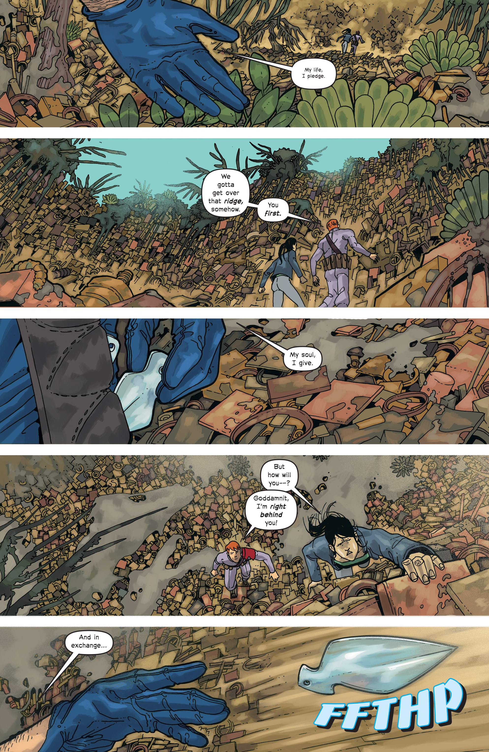 Read online Great Pacific comic -  Issue #18 - 5
