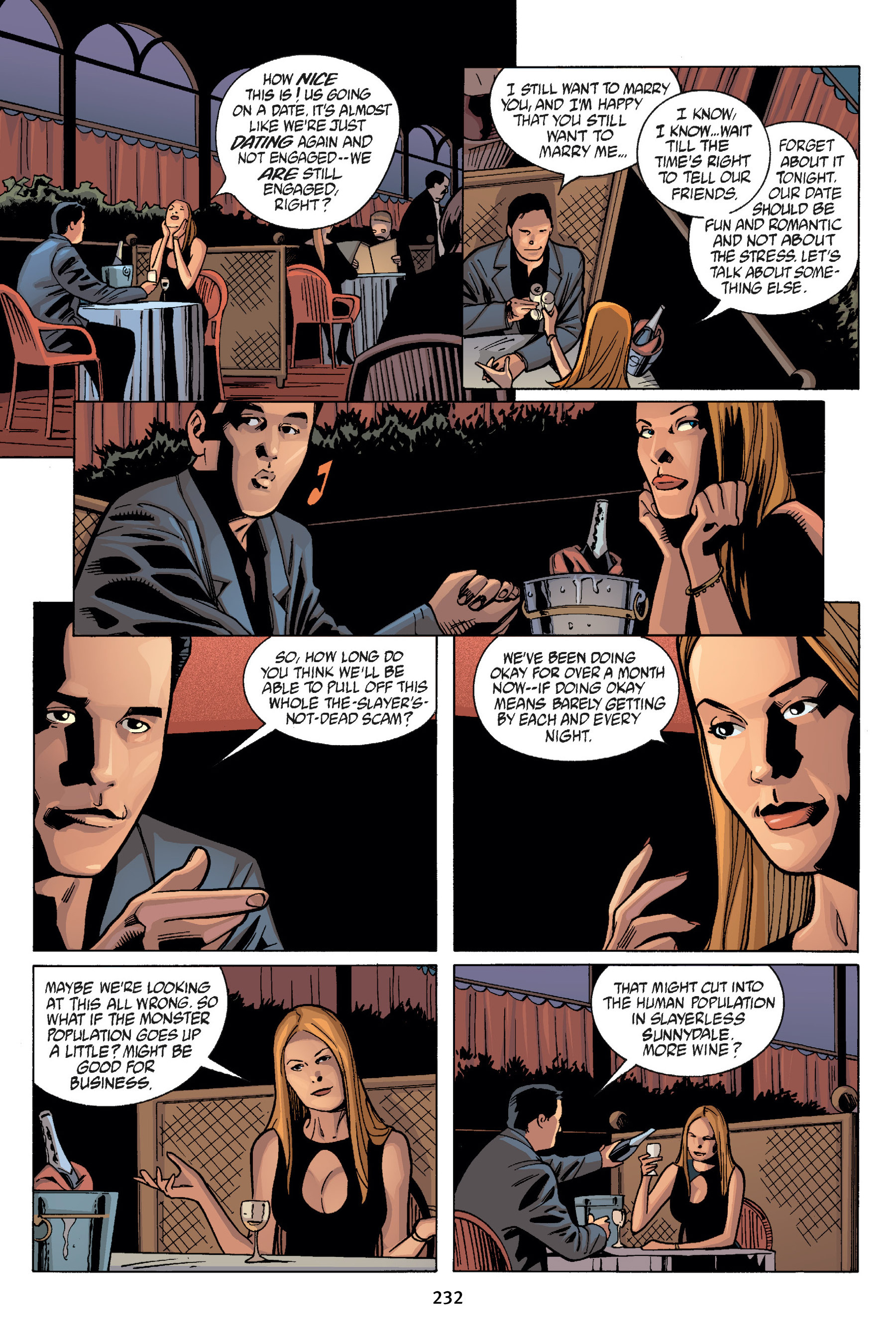 Read online Buffy the Vampire Slayer: Omnibus comic -  Issue # TPB 7 - 232