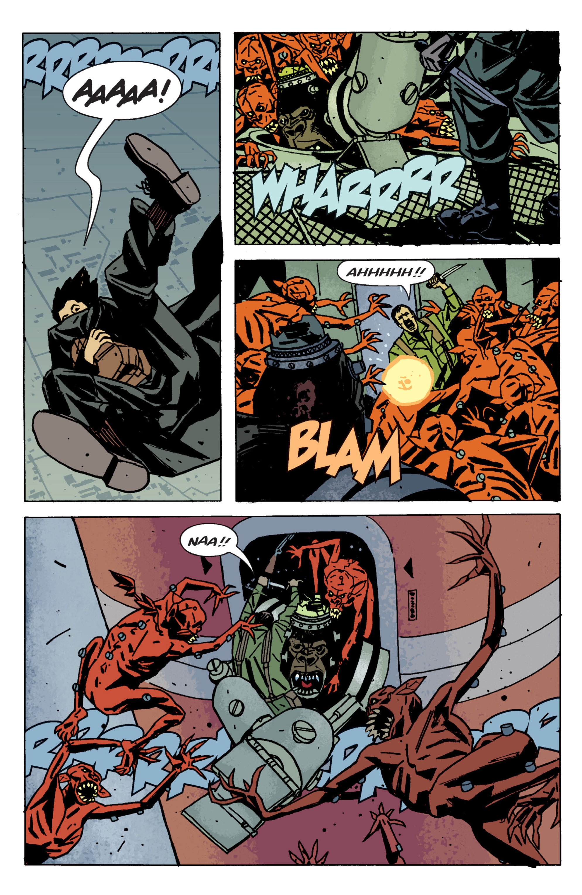 Read online B.P.R.D. (2003) comic -  Issue # TPB 9 - 130