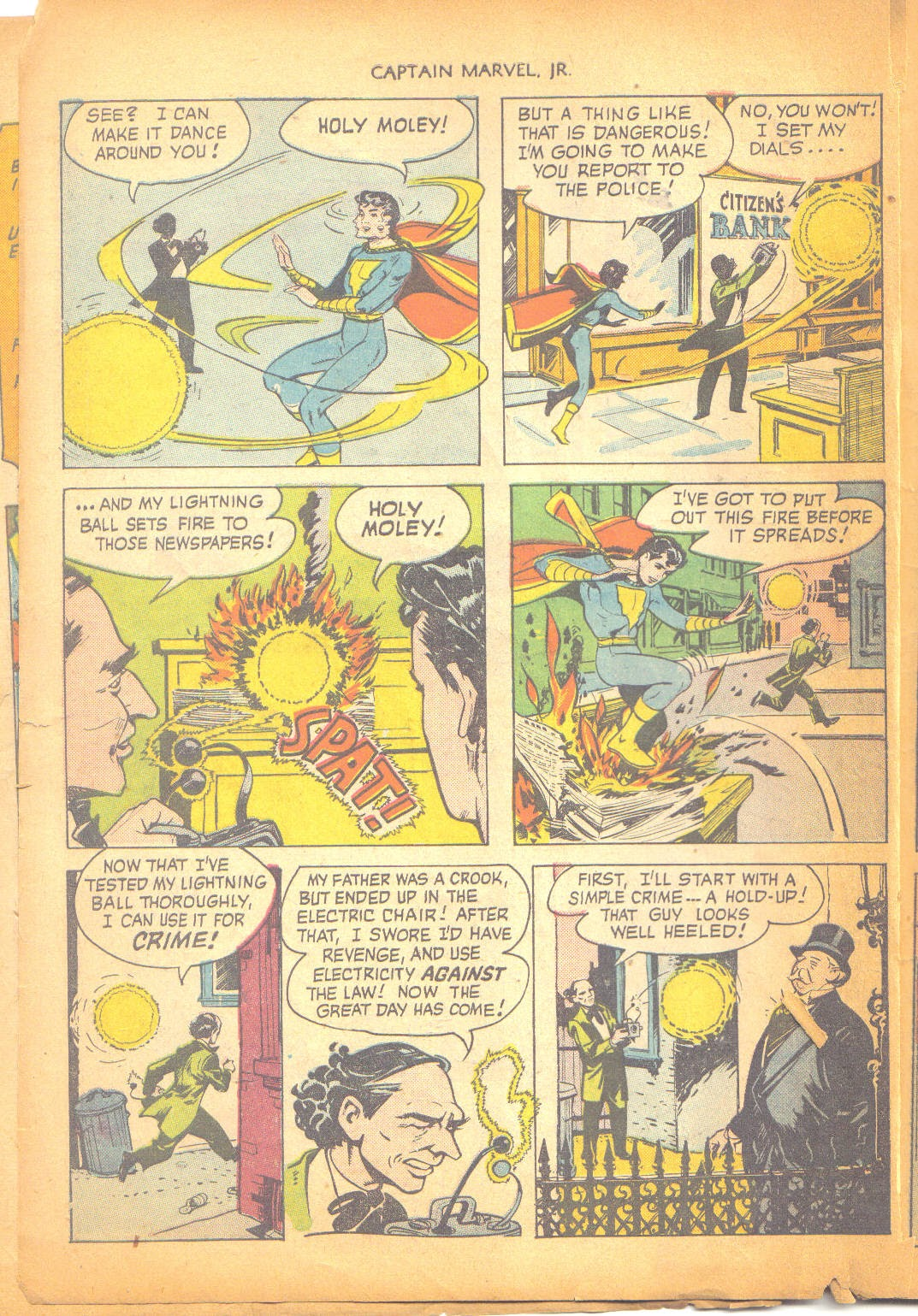 Captain Marvel, Jr. issue 95 - Page 5