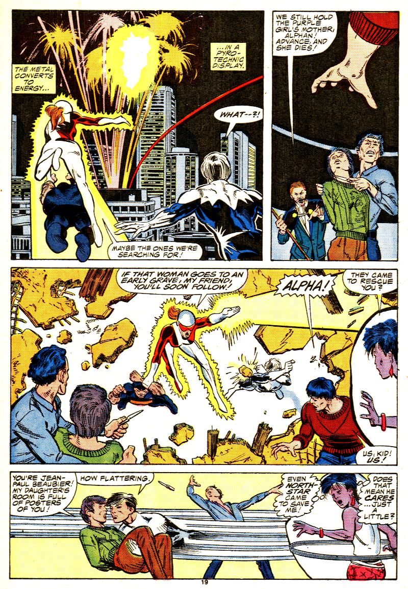 Read online Alpha Flight (1983) comic -  Issue #42 - 20