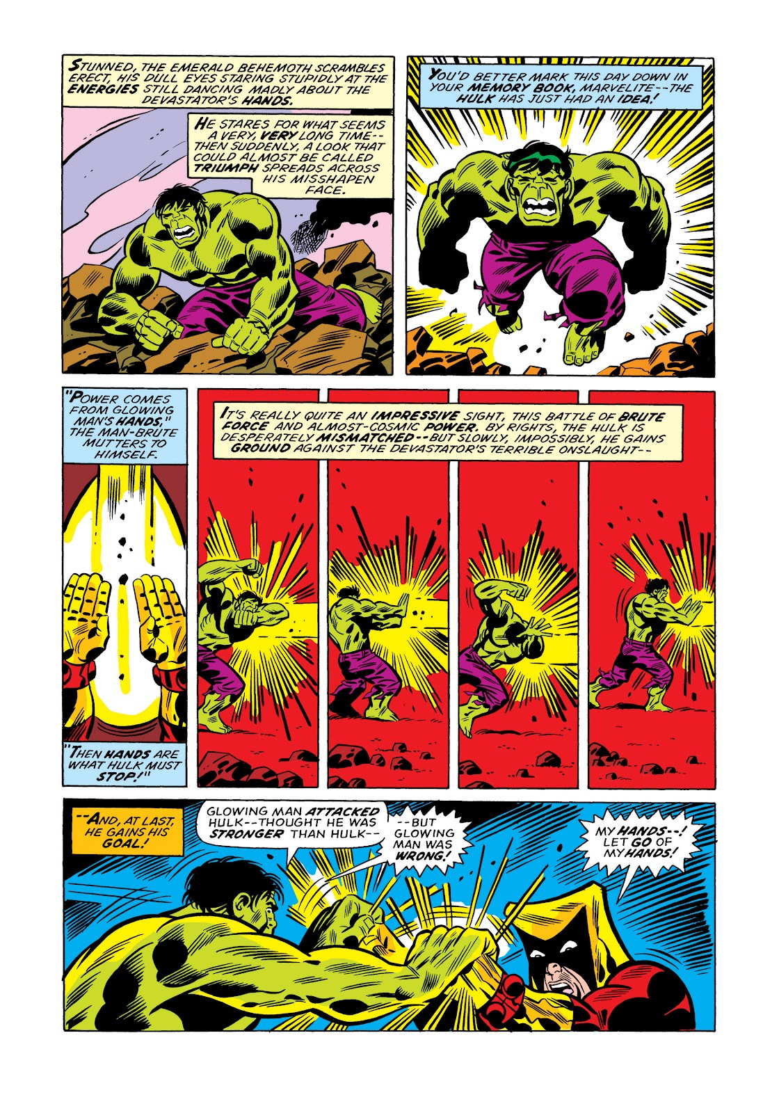 Read online Marvel Masterworks: The Incredible Hulk comic -  Issue # TPB 11 (Part 1) - 60