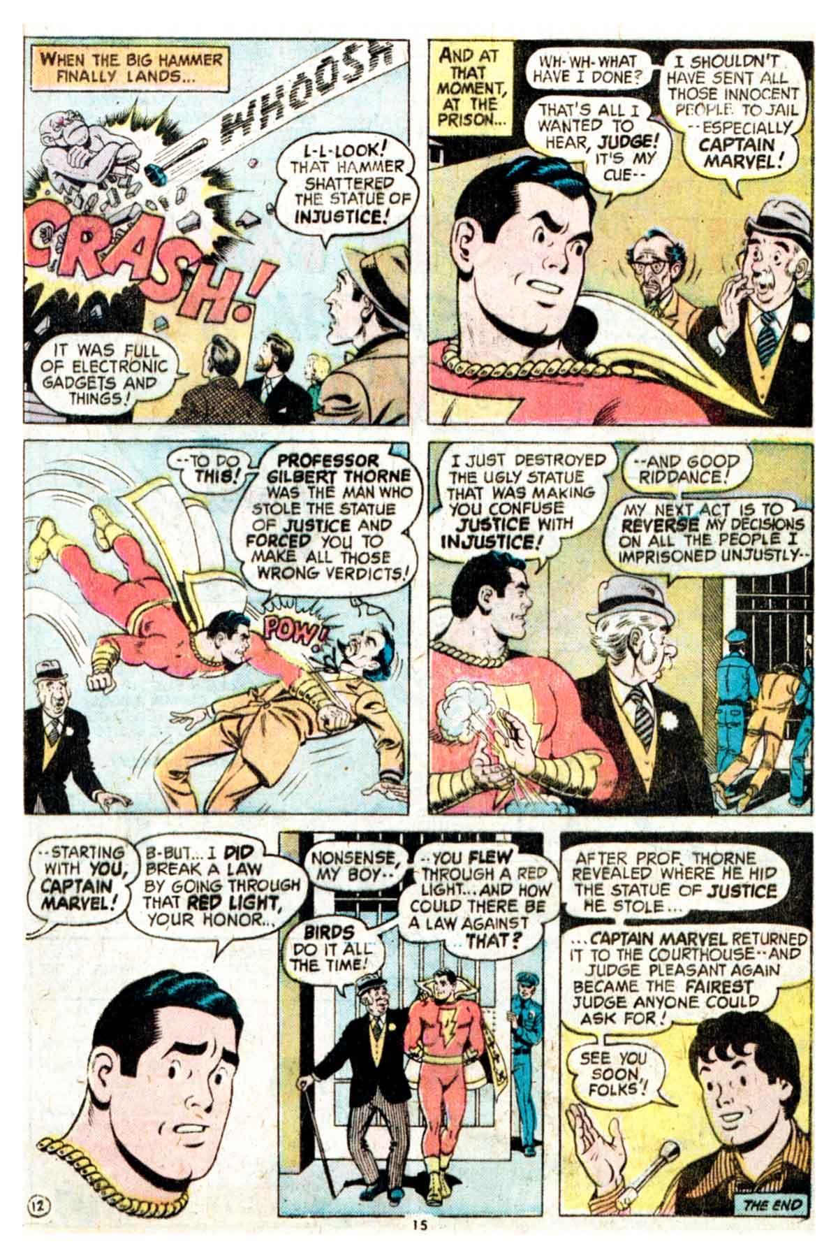 Read online Shazam! (1973) comic -  Issue #16 - 15