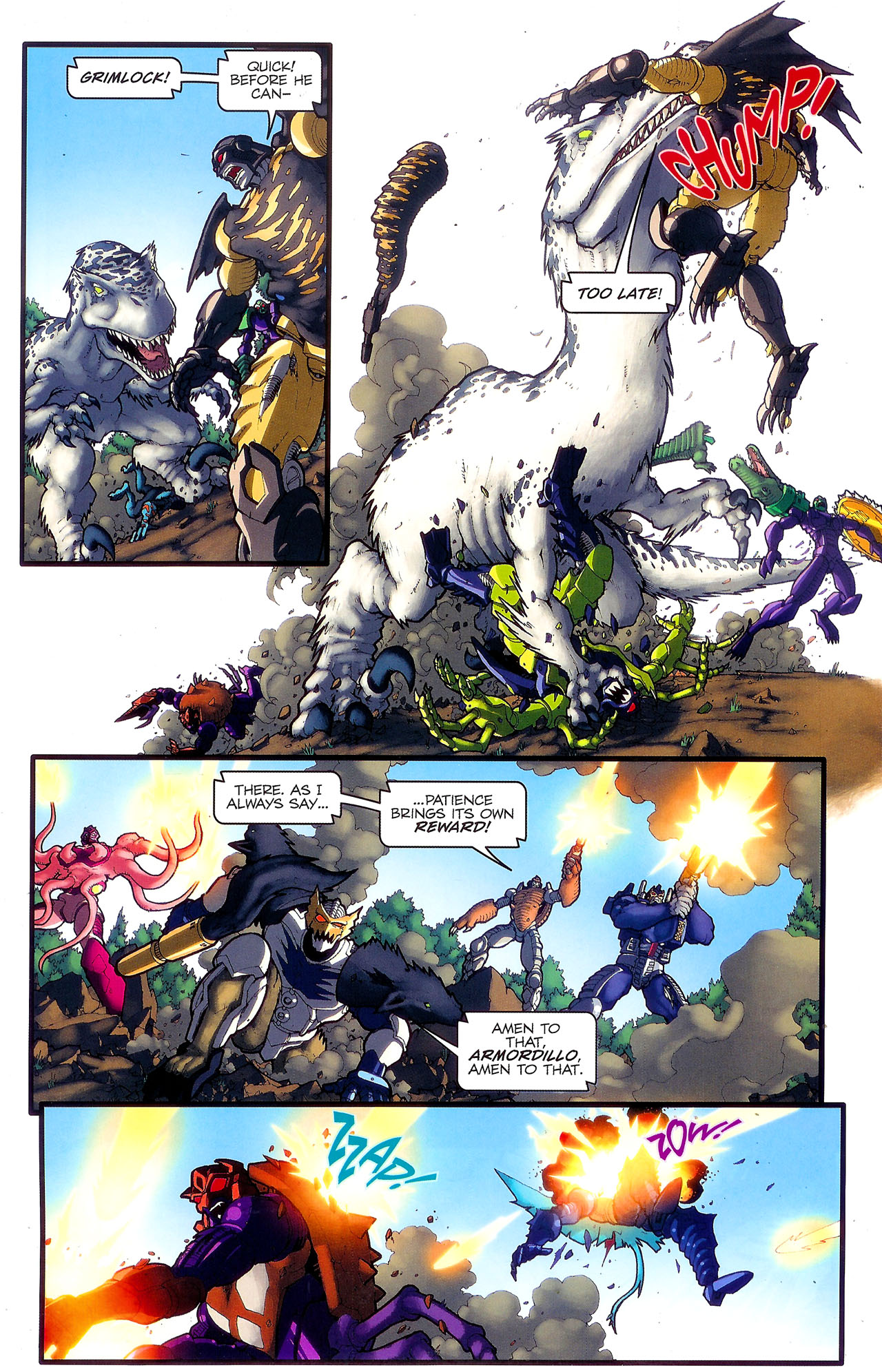 Read online Transformers: Beast Wars: The Ascending comic -  Issue #2 - 8
