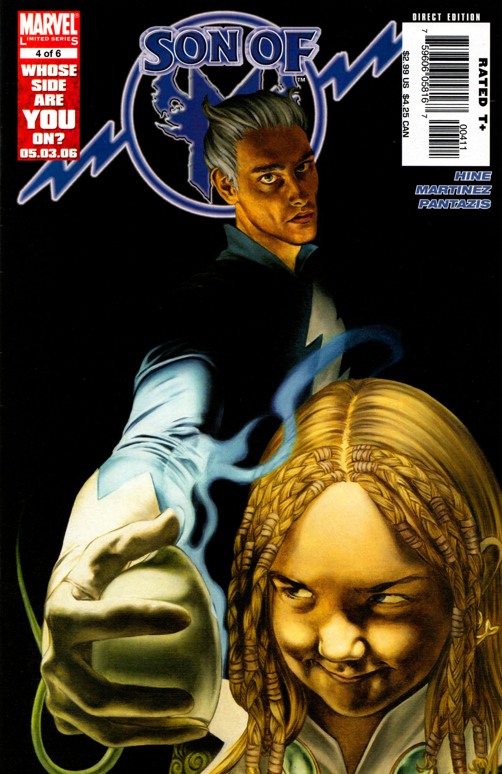 Read online Son of M comic -  Issue #4 - 1