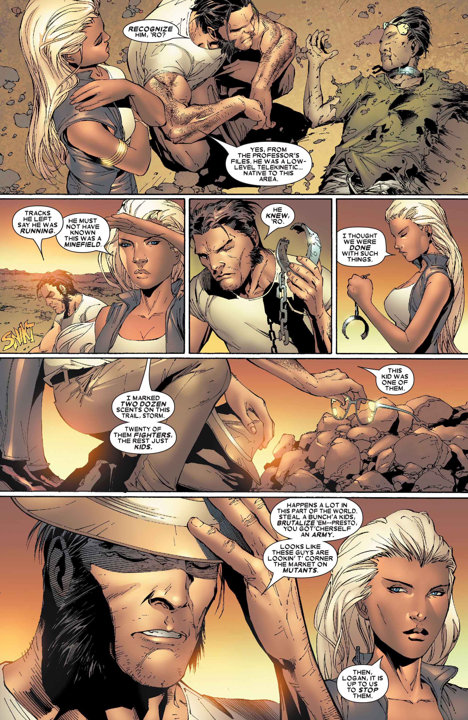 Read online Uncanny X-Men (1963) comic -  Issue #471 - 4