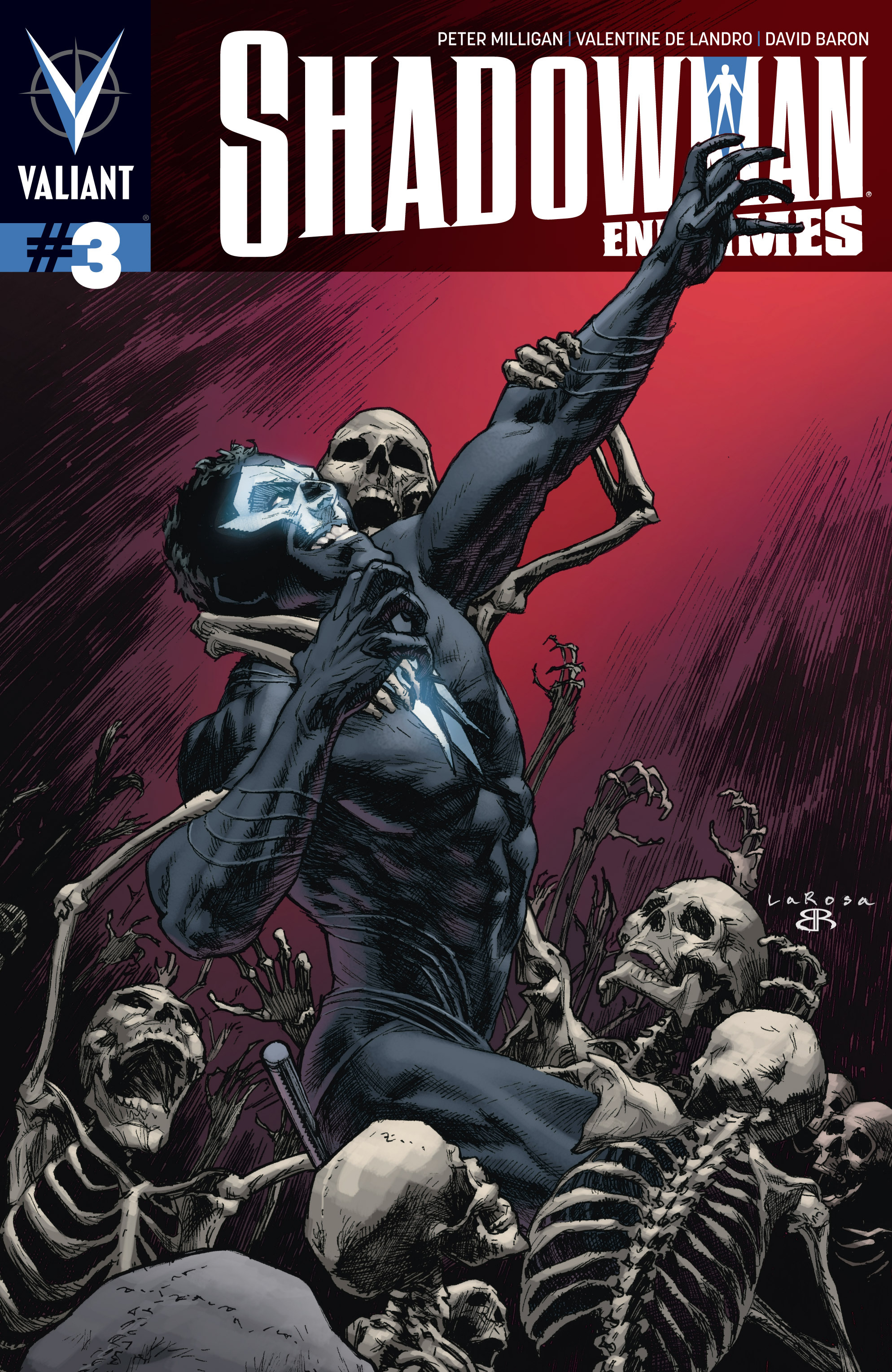 Read online Shadowman: End Times comic -  Issue #3 - 1