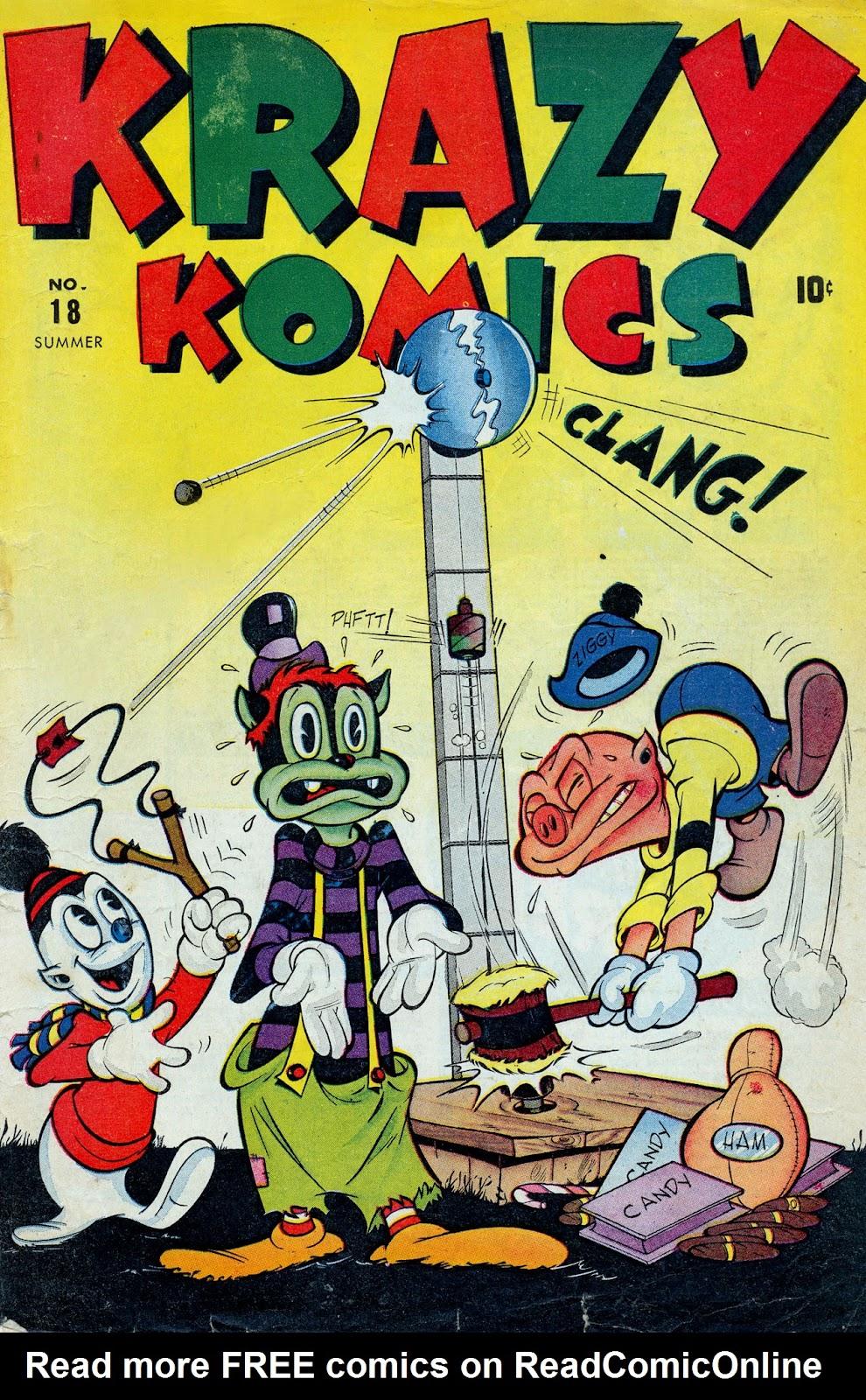 Krazy Komics issue 18 - Page 1