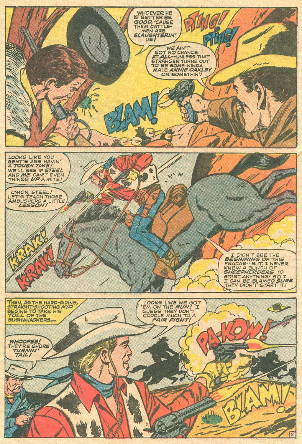 Kid Colt Outlaw issue 136 - Page 4