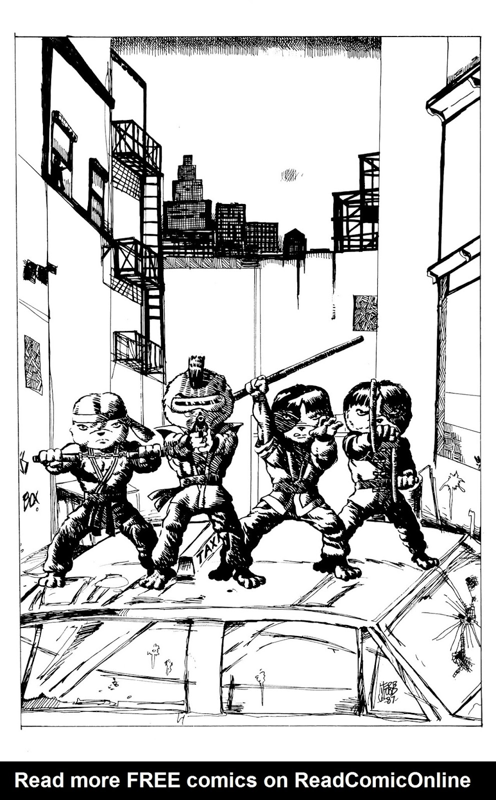 Adolescent Radioactive Black Belt Hamsters (1986) issue 9 - Page 24