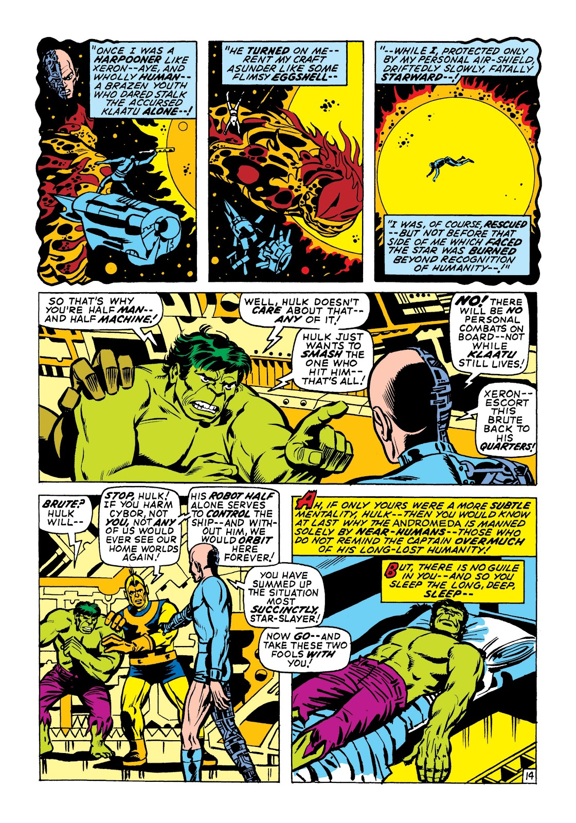 Read online Marvel Masterworks: The Incredible Hulk comic -  Issue # TPB 7 (Part 1) - 60