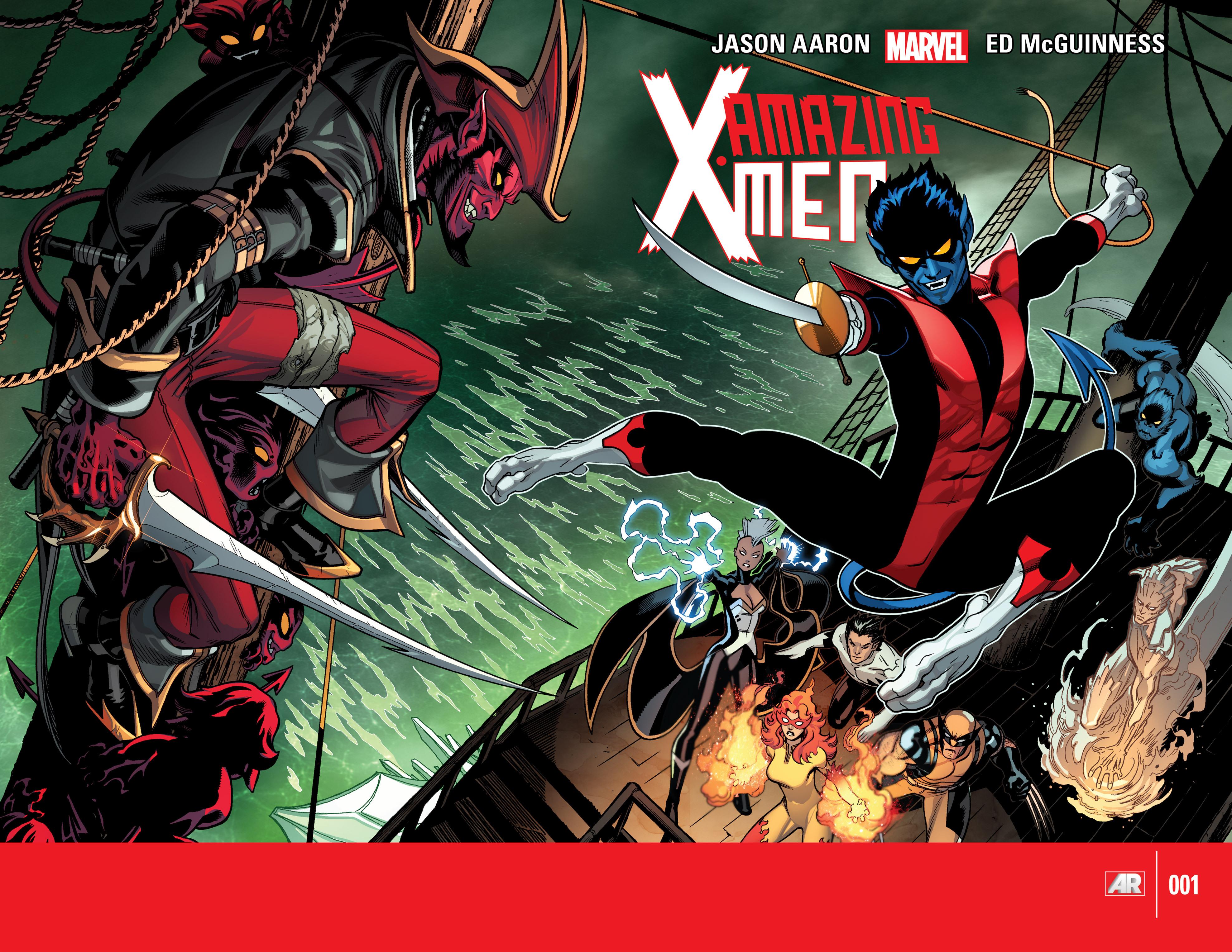 Read online Amazing X-Men (2014) comic -  Issue #1 - 2